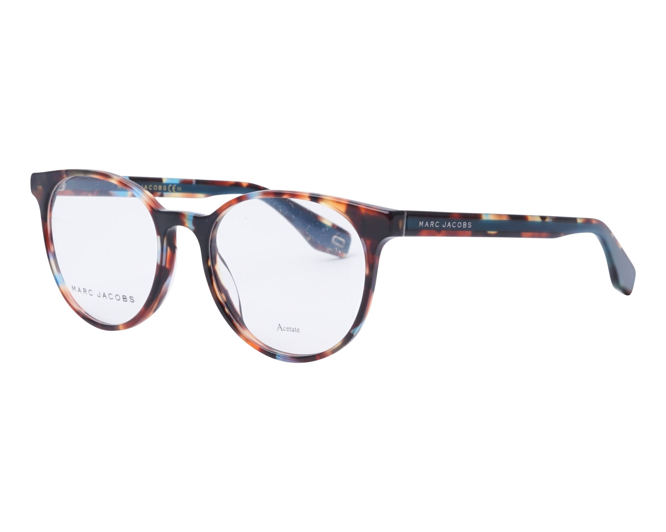 366ddccdc9 eyeglasses Marc Jacobs MARC-283 FZL 52-18 Mix Turquoise profile view