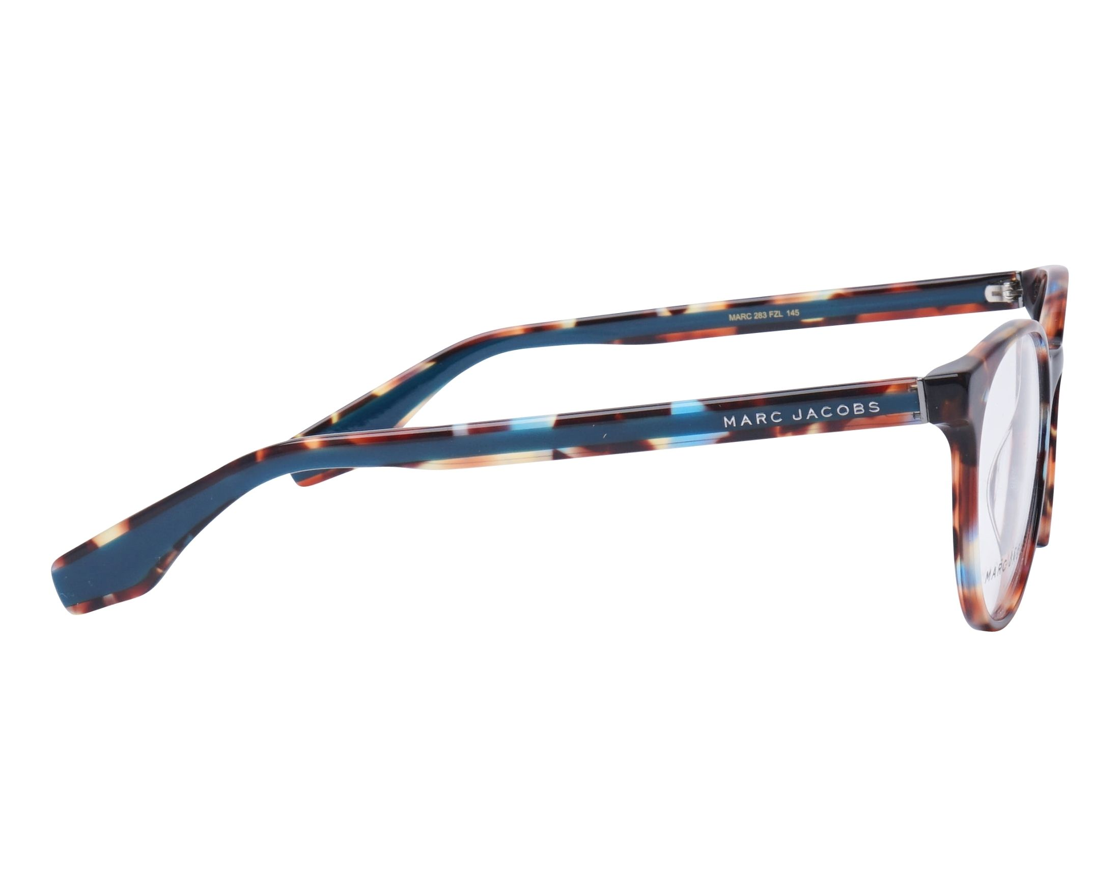 385a1fe0055 eyeglasses Marc Jacobs MARC-283 FZL 52-18 Mix Turquoise side view
