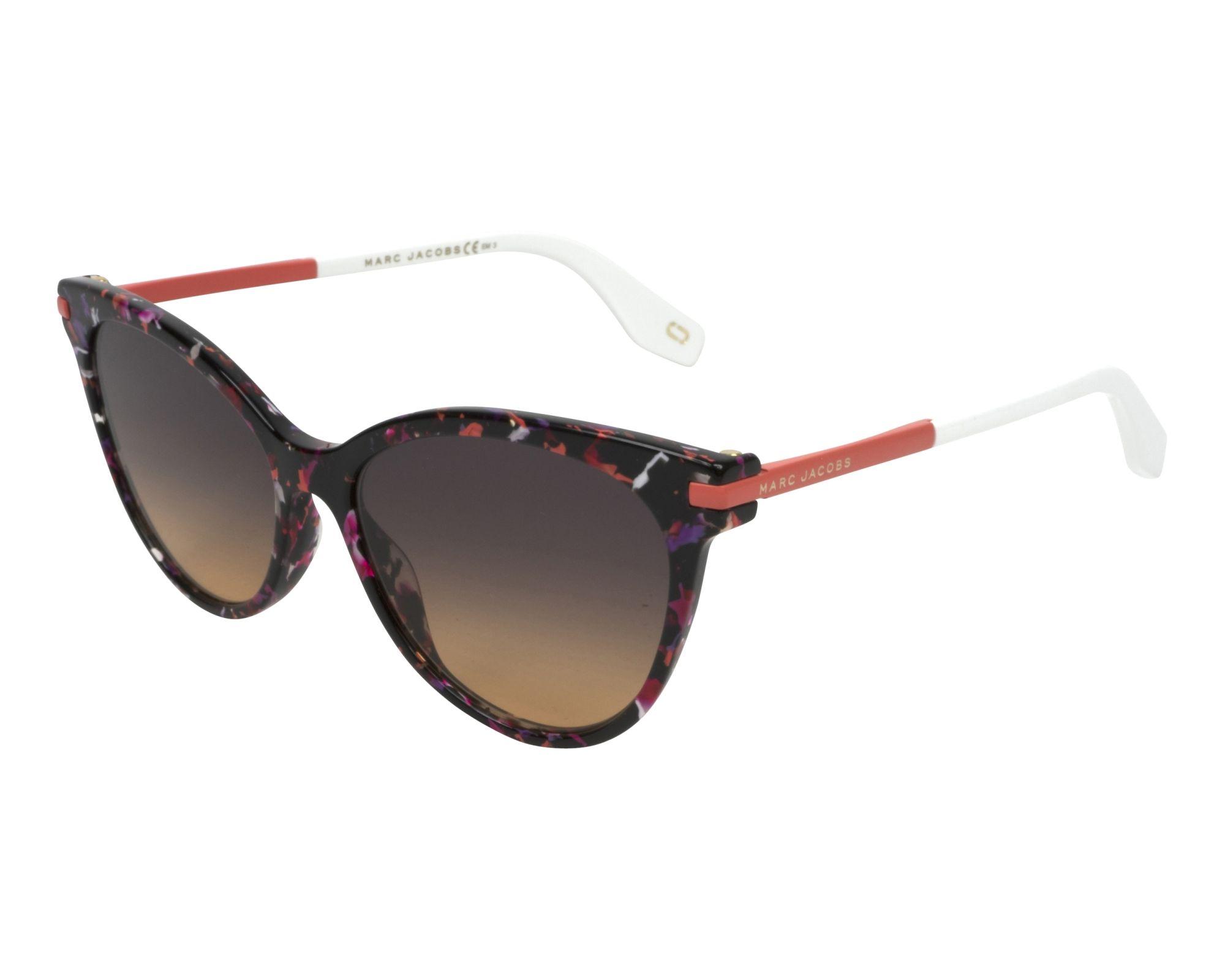 80c570c0af43c Sunglasses Marc Jacobs MARC-295-S EED TH 55-16 Mix Rosa