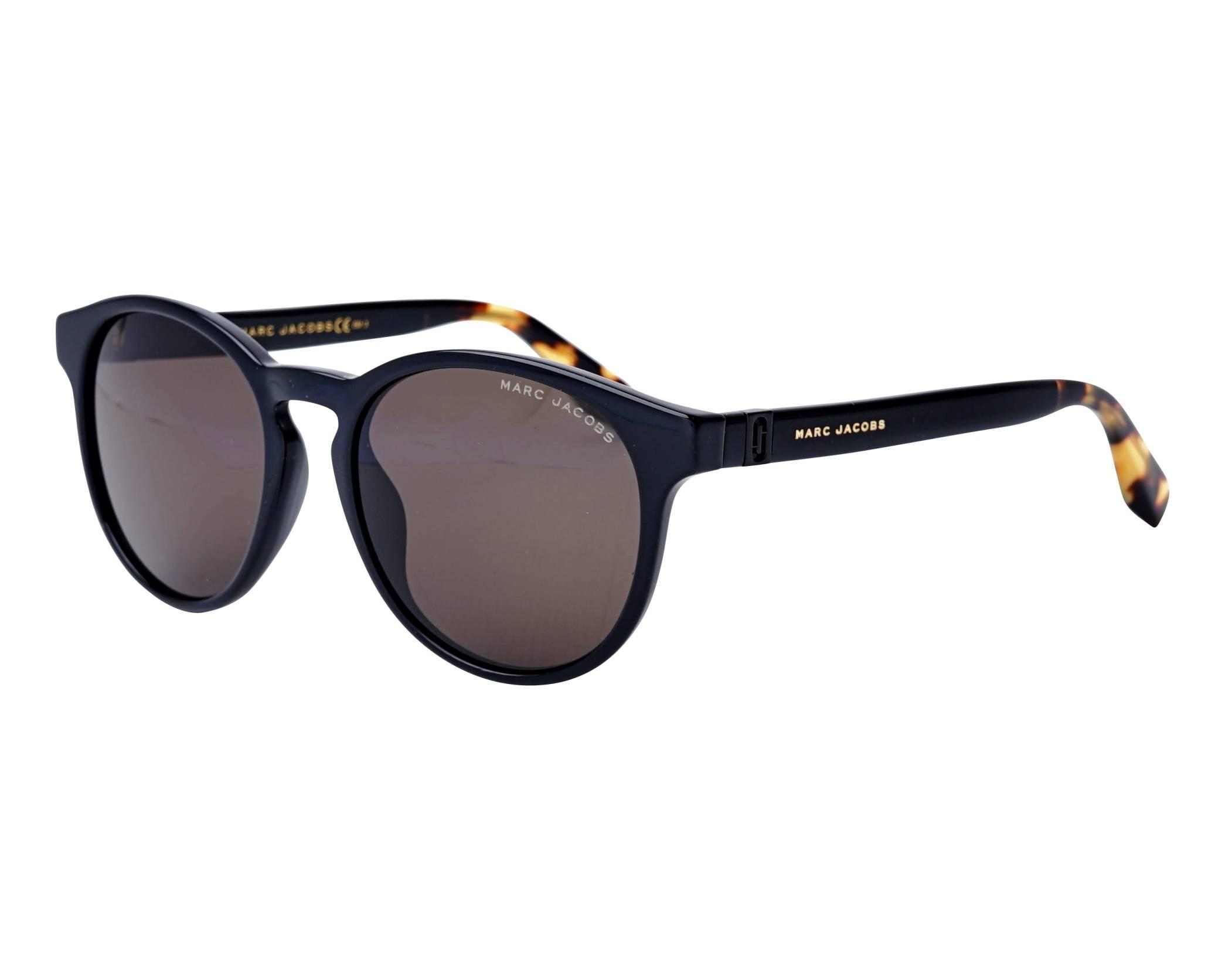 fa4597f48f2 Sunglasses Marc Jacobs MARC-351-S 807IR 52-19 Black profile view
