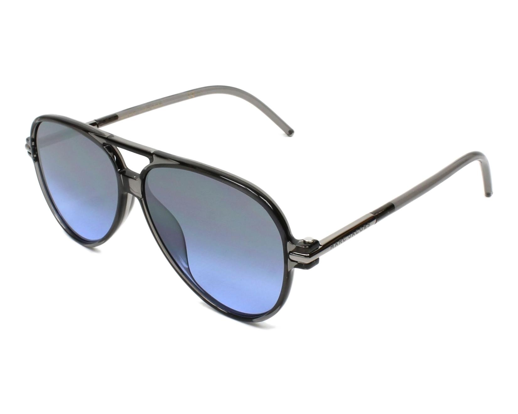 Sunglasses Marc Jacobs MARC-44-S TME I5 56-11 Grey Silver d166929acf6d