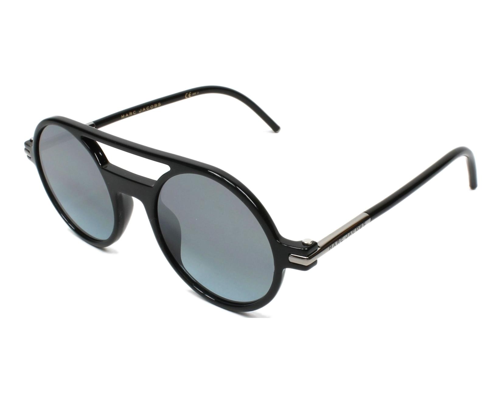 a3c45c5512 Sunglasses Marc Jacobs MARC-45-S D28 I8 48-21 Black profile