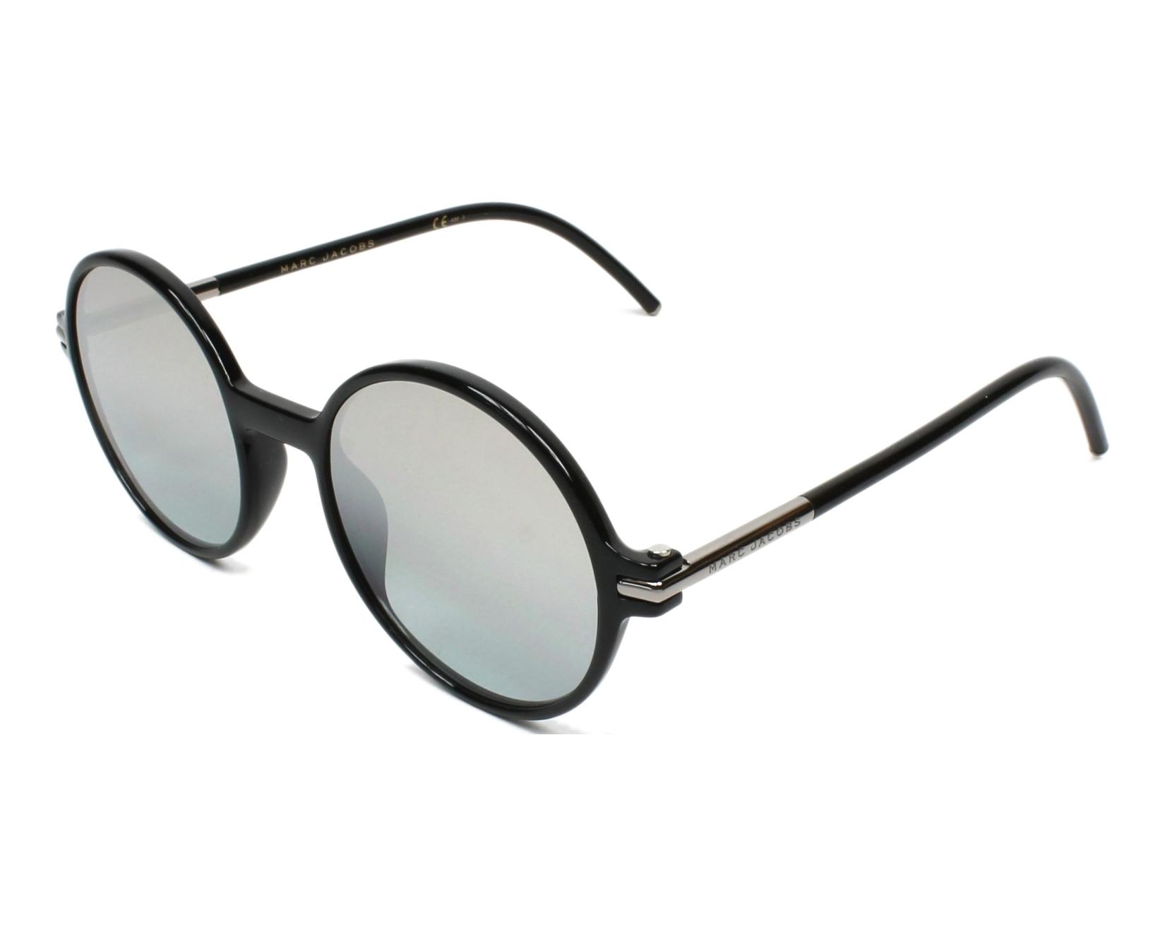Sunglasses Marc Jacobs MARC-48-S D28 GY 52-21 Black profile aa40d5d143a0