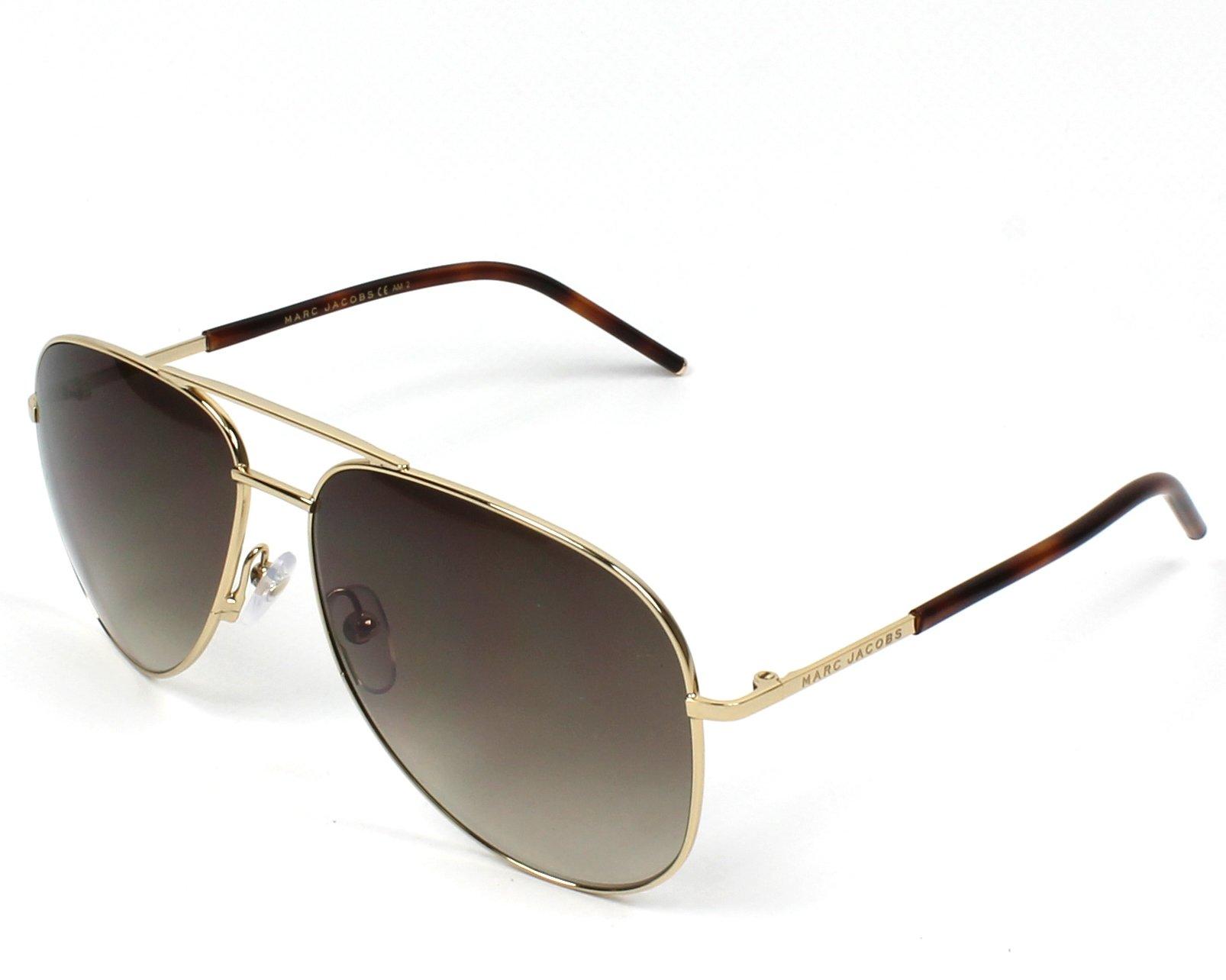 c3980723b76 Sunglasses Marc Jacobs MARC-60-S TAV CC 59-14 Gold Havana