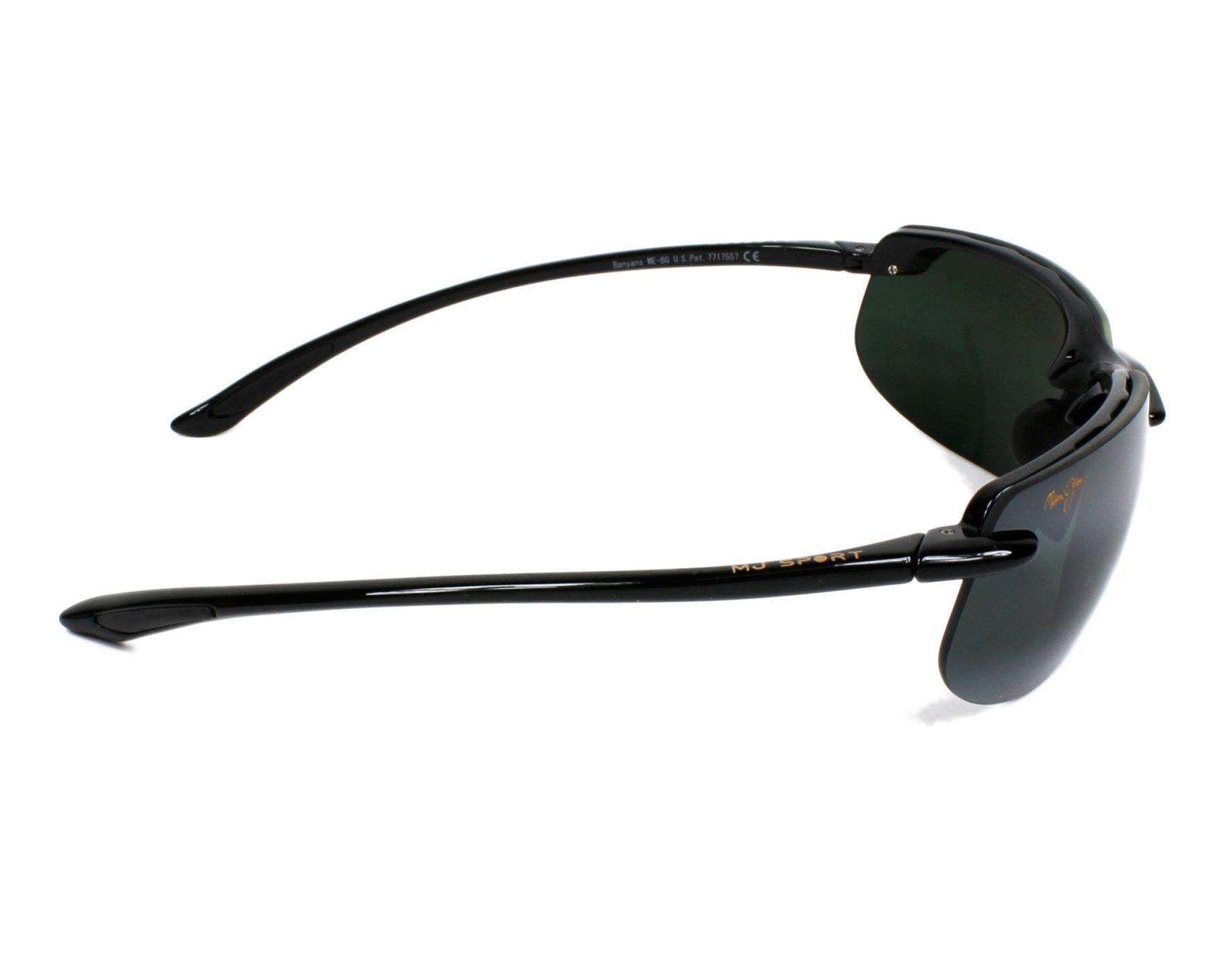Maui Jim Banyans Polarized 412-02 70 New Men Sunglasses
