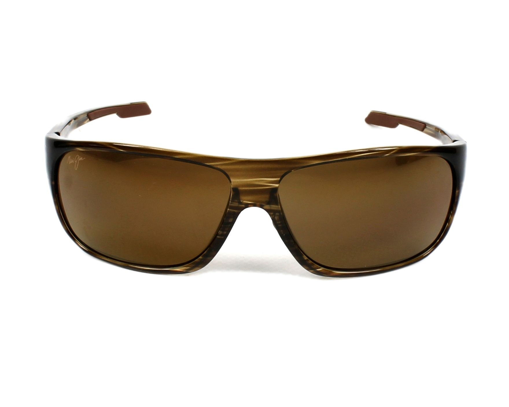 609a90f3b8d Sunglasses Maui Jim H-237 15 - Brown front view