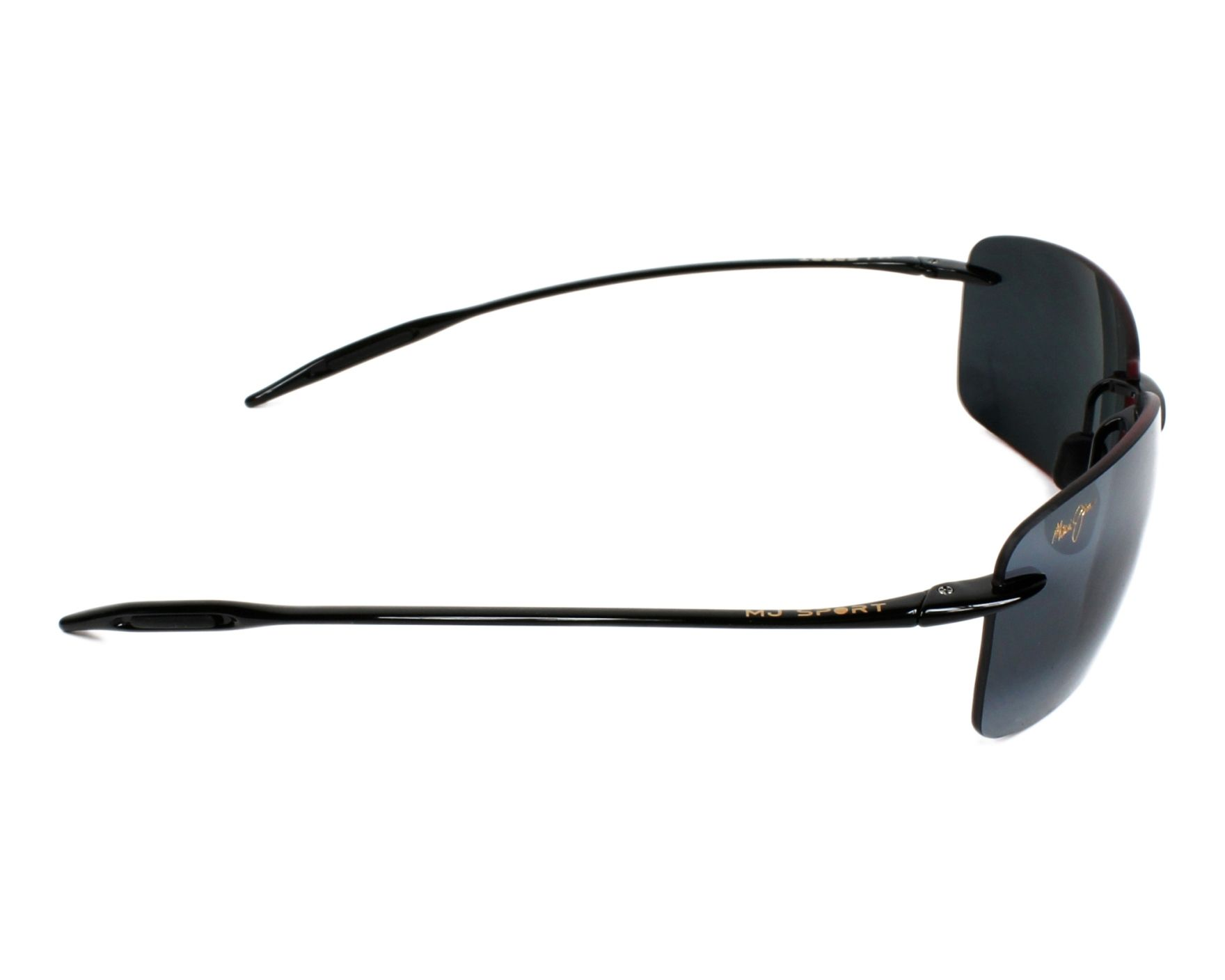 f3c5e2930eb Sunglasses Maui Jim 423 02 67-13 Black side view