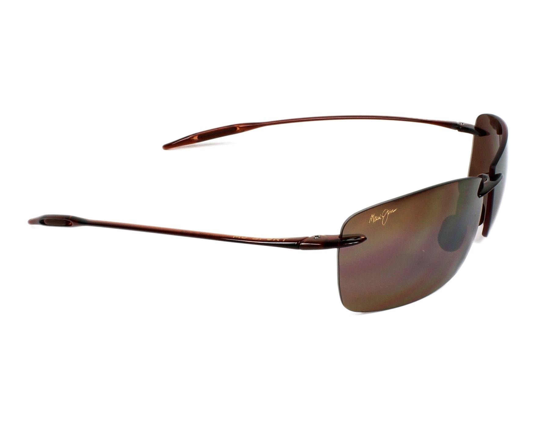 93048ae7382 Sunglasses Maui Jim H-423 26 67-13 Brown side view