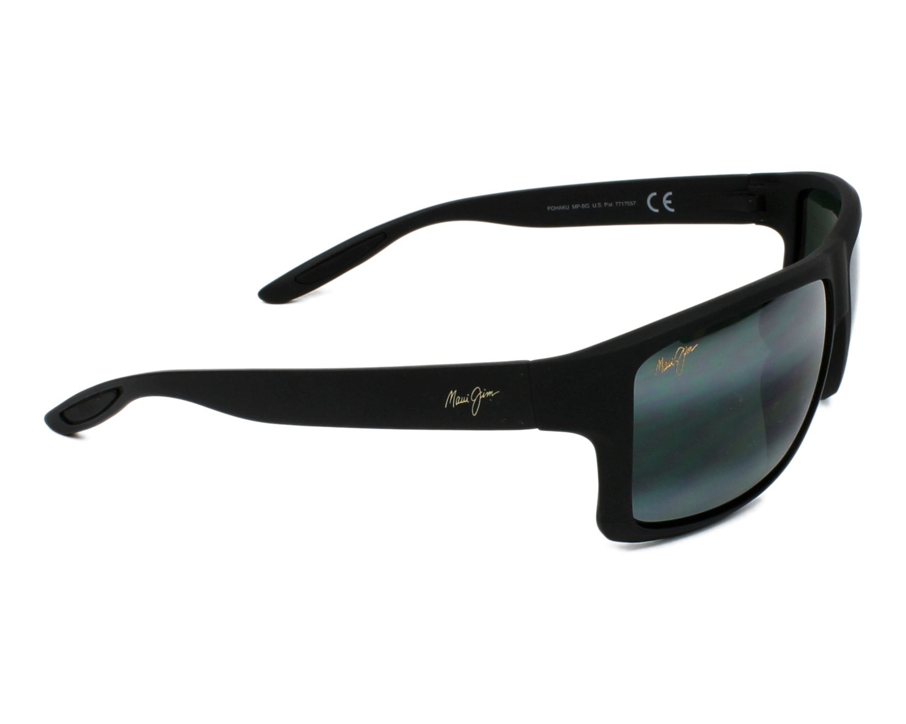 f78b541a27d6 Sunglasses Maui Jim 528 2M 62-15 Black side view
