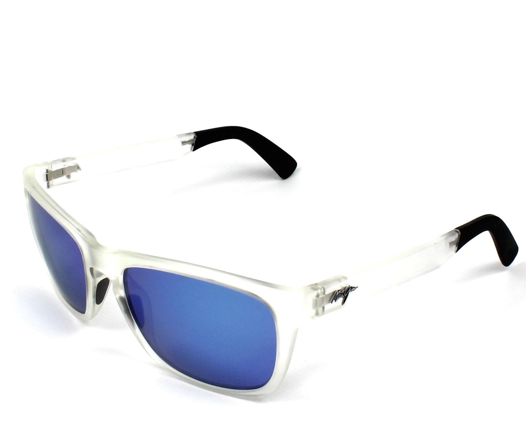 c21695e5df Polarized. Sunglasses Maui Jim B-755 05CM 58-18 Crystal Crystal profile view