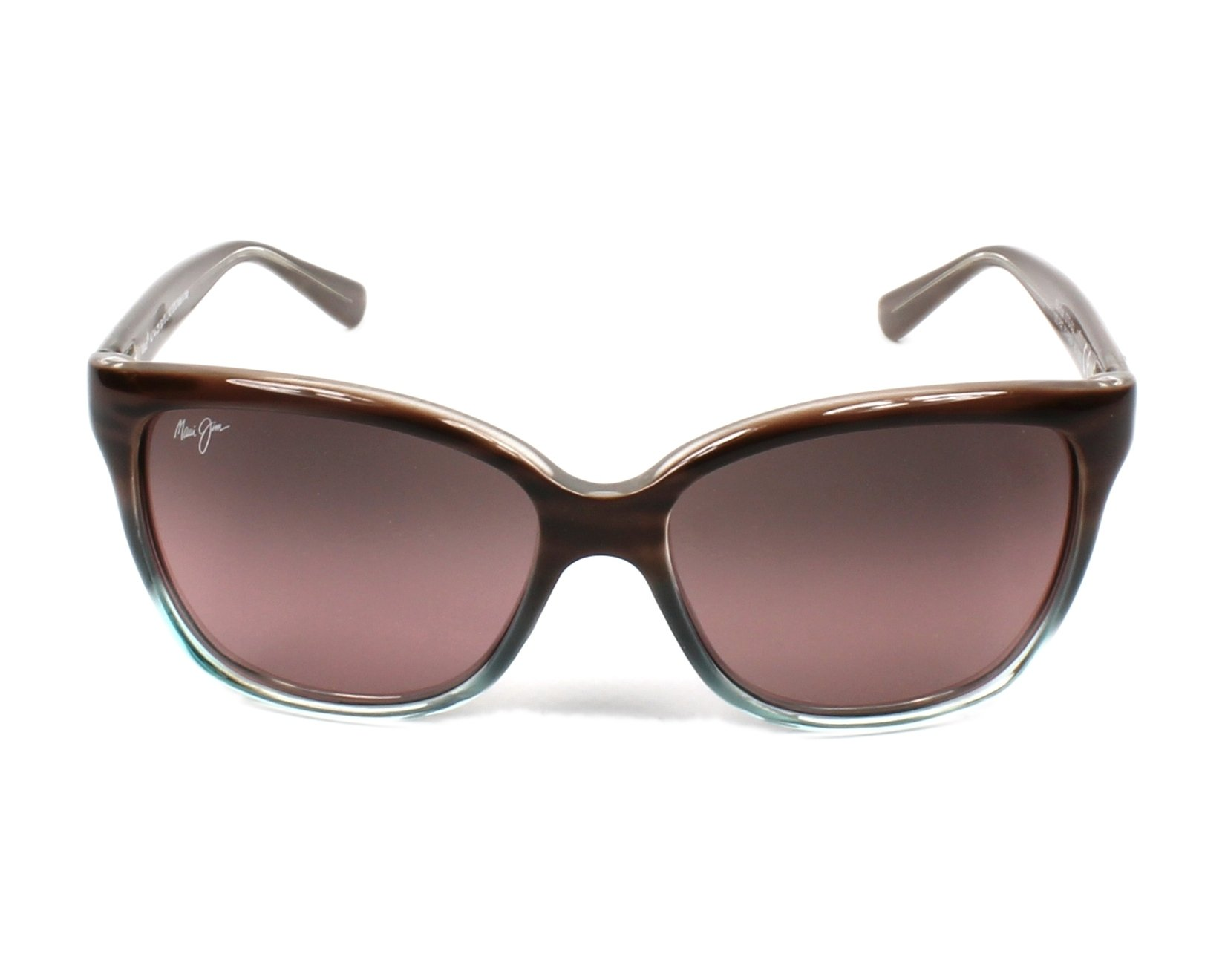 133c4120e95f8 Sunglasses Maui Jim RS-744 22B - Brown Turquoise front view