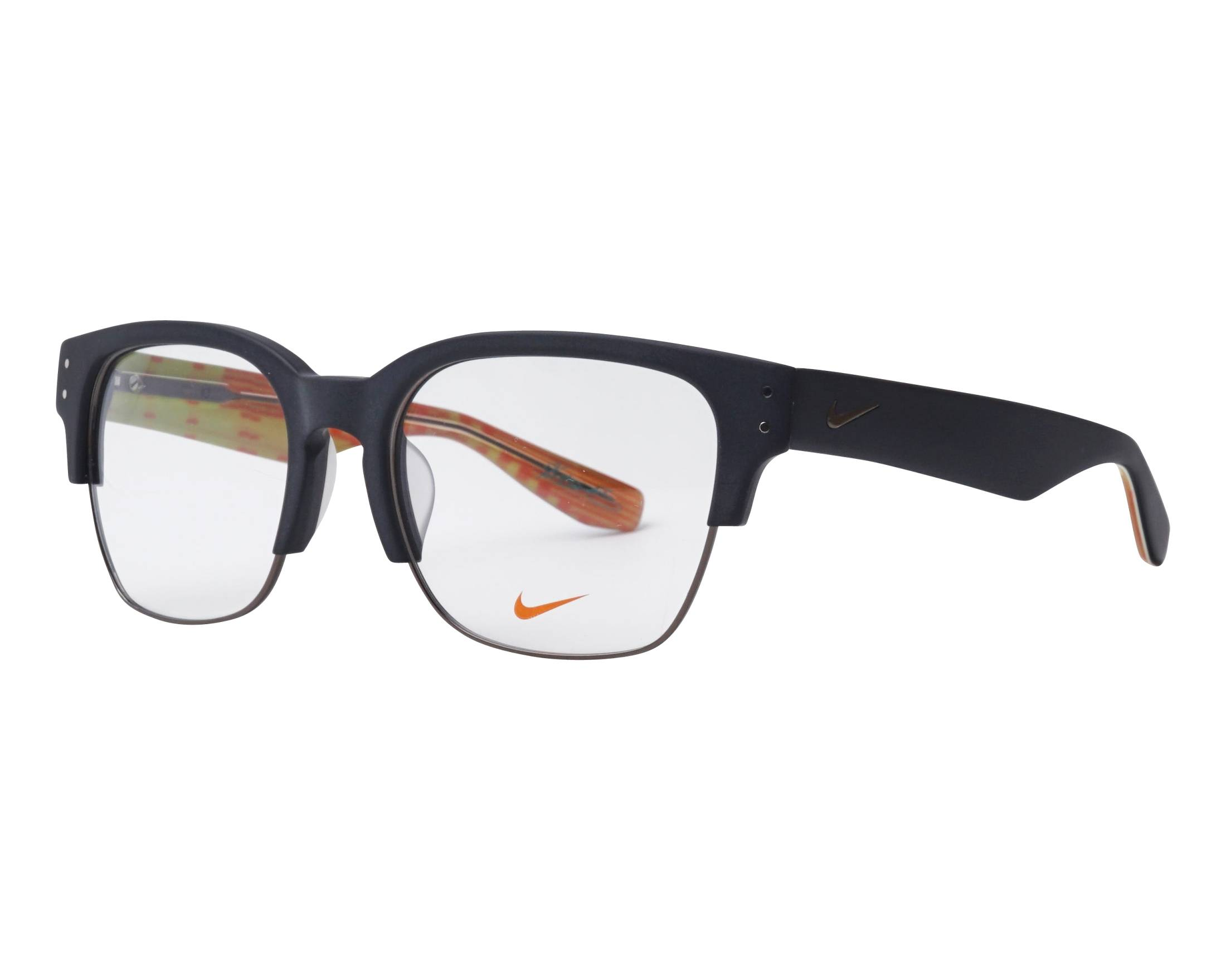 710699bd29 eyeglasses Nike 35-KD 001 55-19 Black Gun profile view