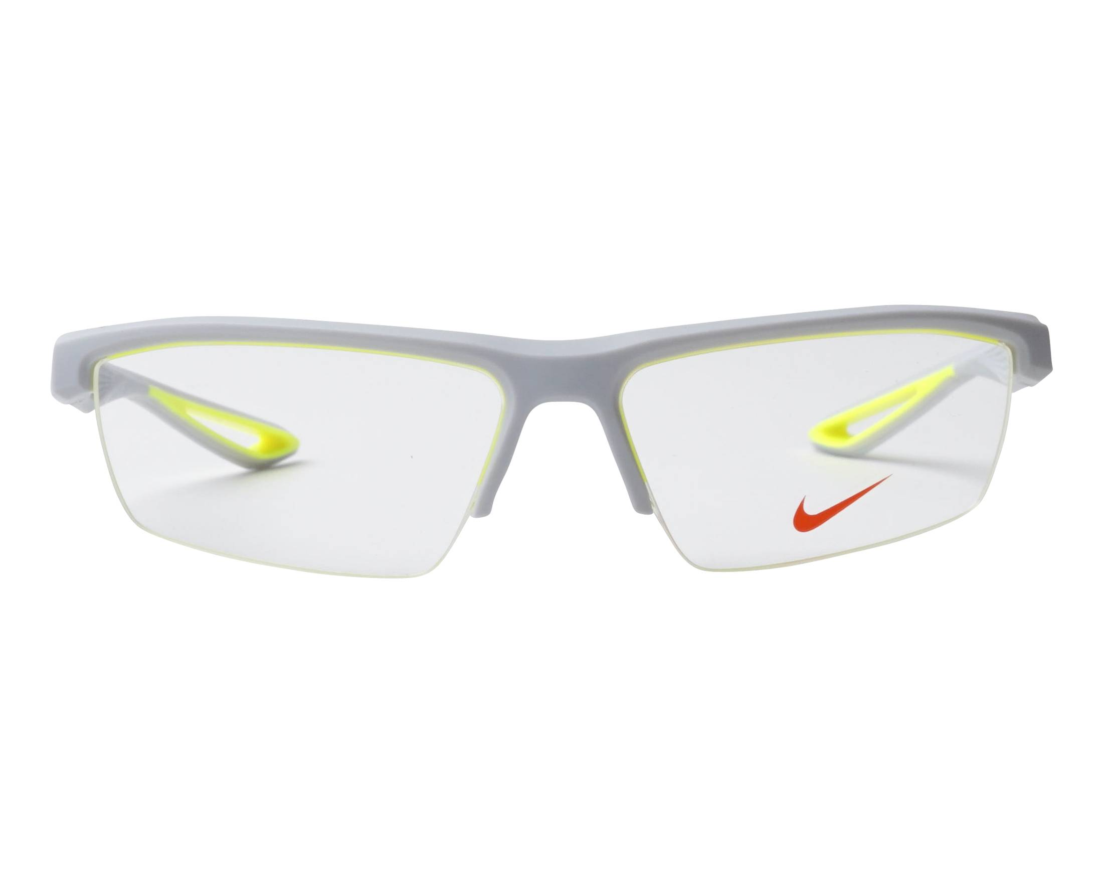 eyeglasses Nike 7079 040 57-15 Grey Yellow front view 04a20567df30a