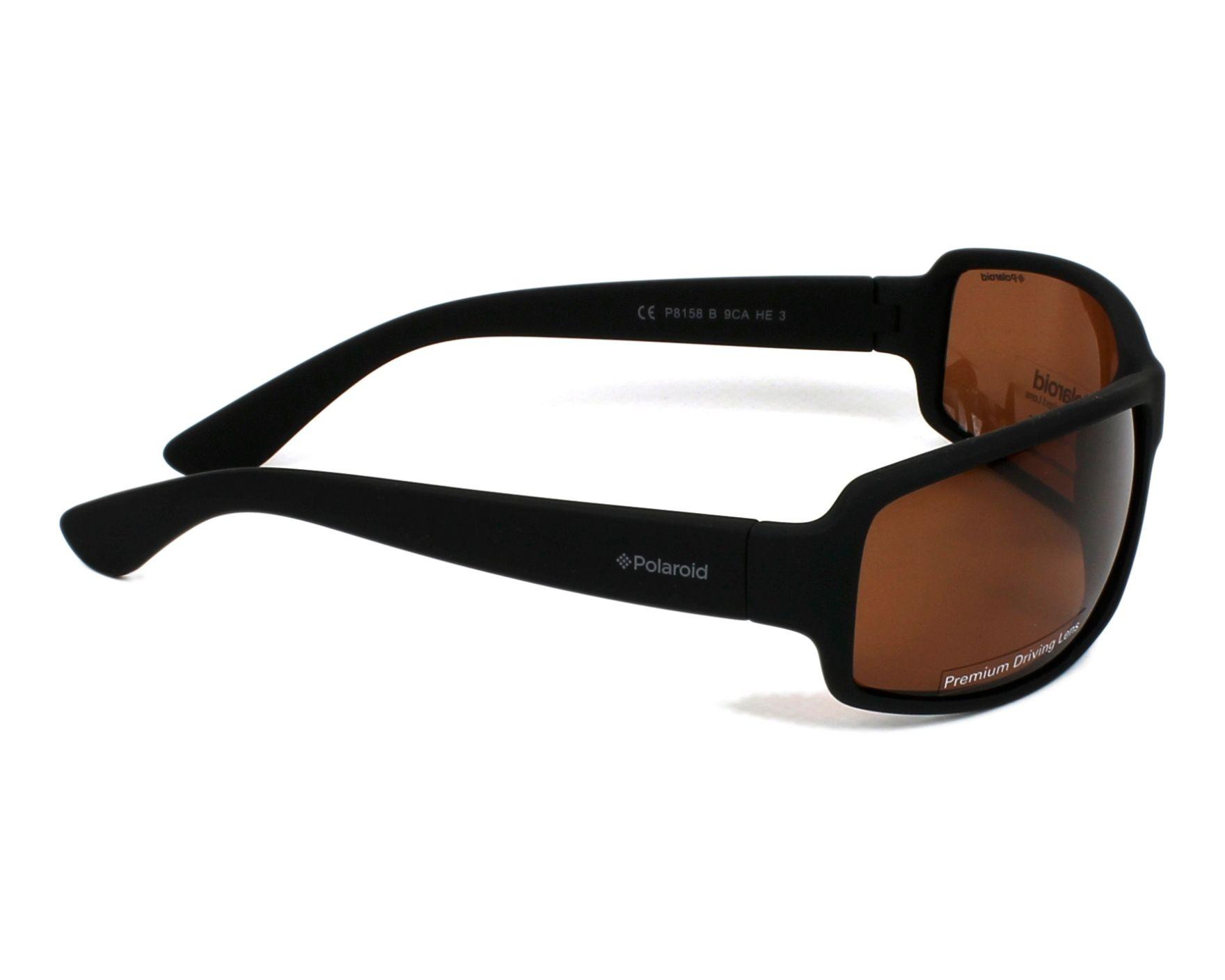 92eb0d69de7 thumbnail Sunglasses Polaroid P-8158-B 9CA HE - Black side view