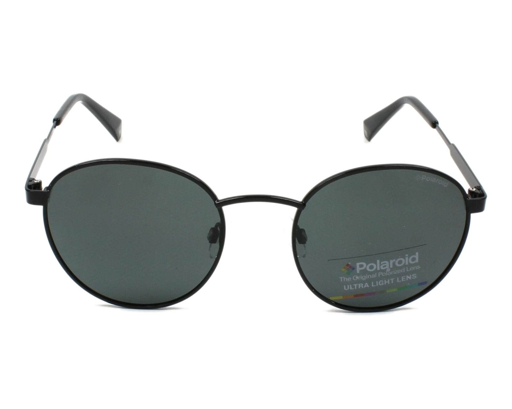 807 Polaroid Sunglasses PLD20451//S Black// Grey Polarised