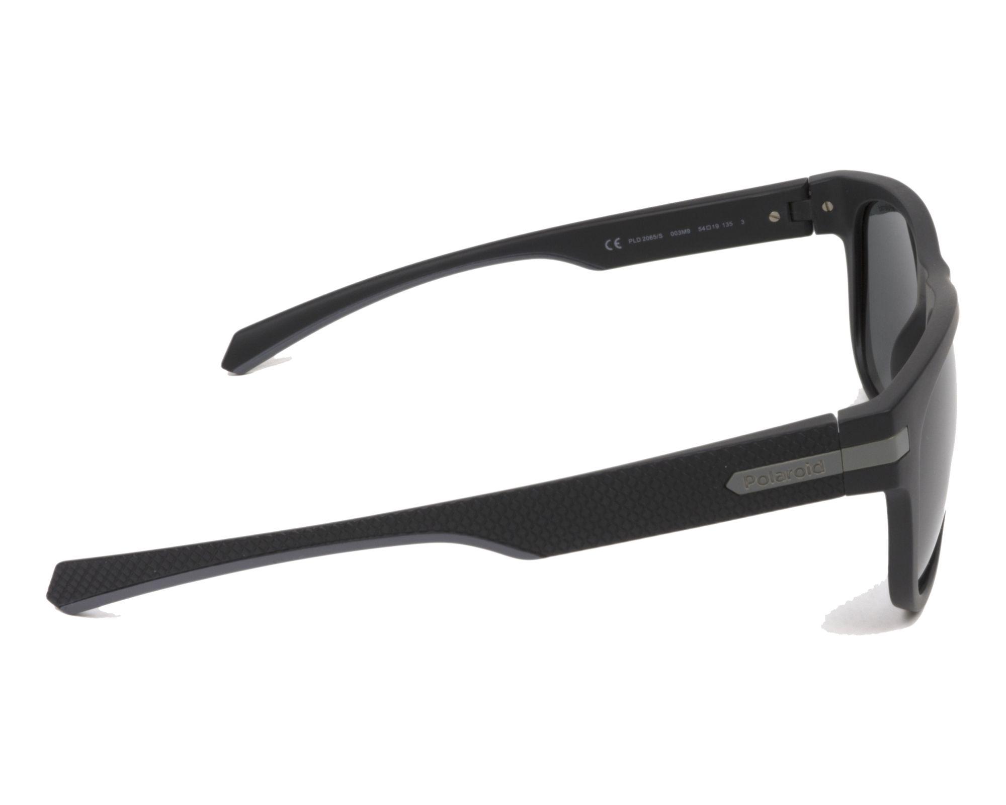 Sunglasses Polaroid PLD-2065-S 003 M9 54-19 Black Grey side 22b55848aa0