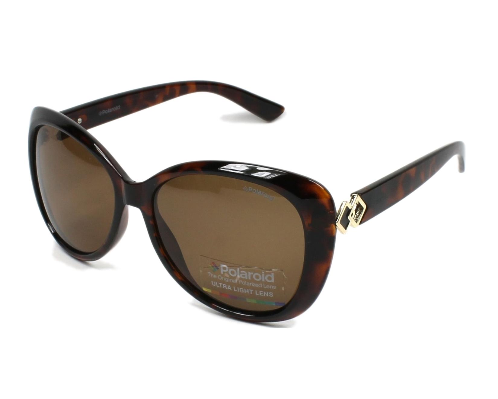 Womens Pld 4050/S SP Sunglasses, Dark Havana, 58 Polaroid