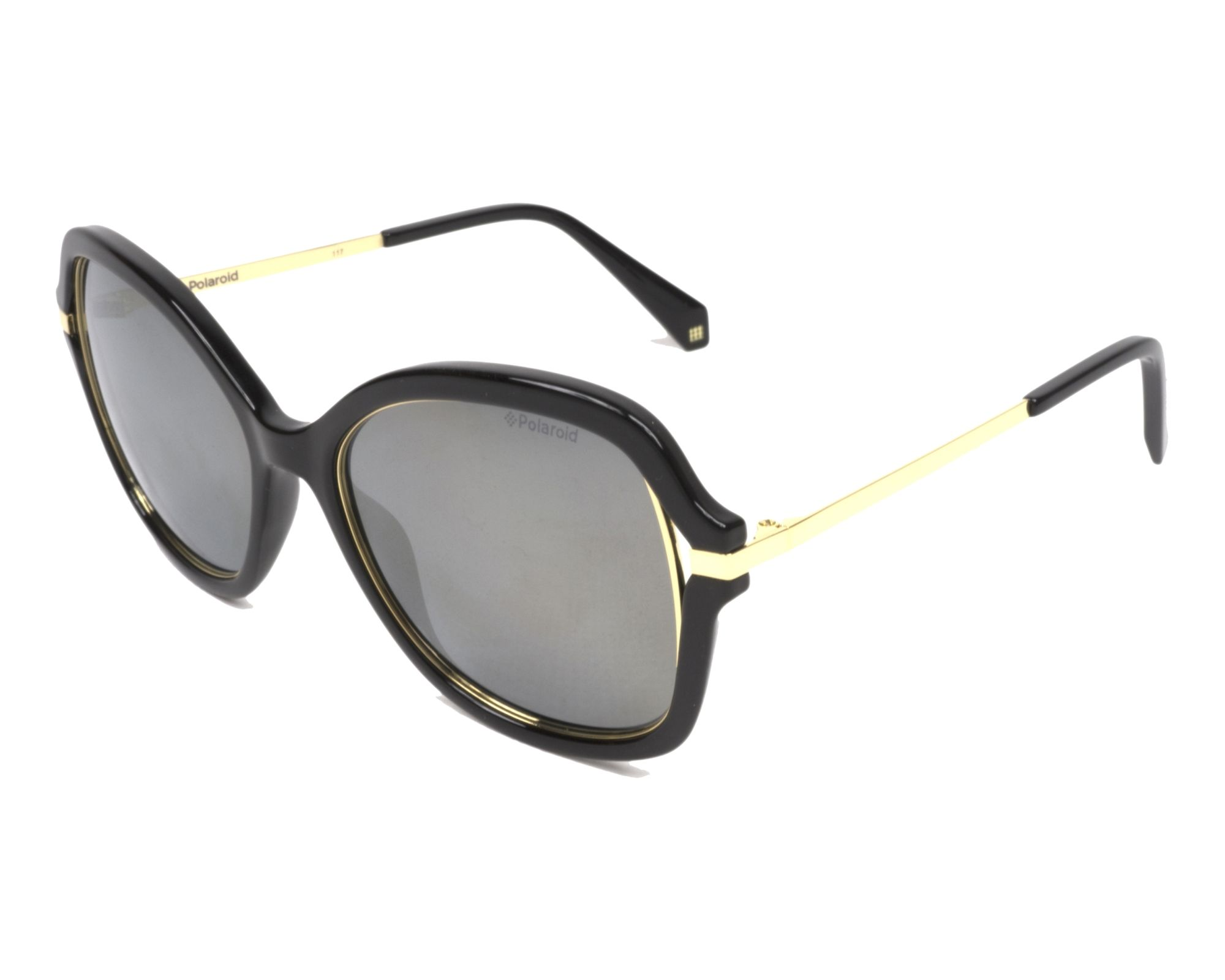 c2fbda3050 Sunglasses Polaroid PLD-4068-S 2M2 LM 55-17 Black Gold profile