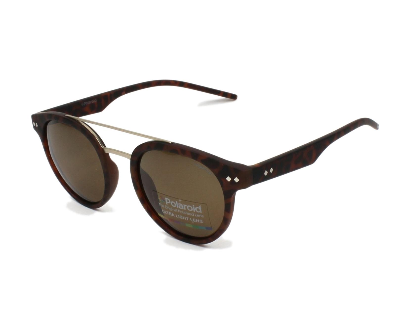 aee90134136a5d Sunglasses Polaroid PLD-6031-S N9P SP 49-21 Havana Gold profile