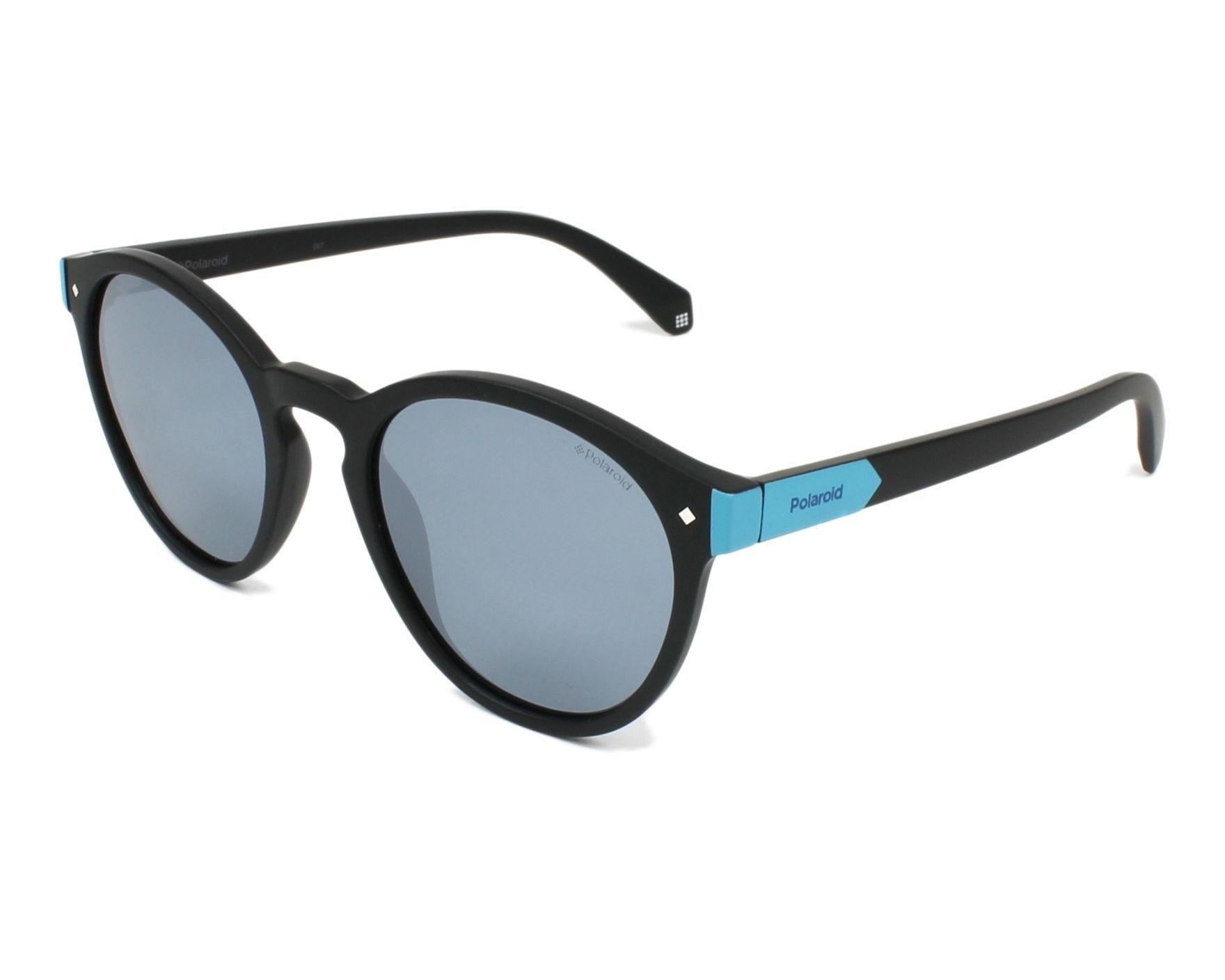 1b4642168d9 thumbnail Sunglasses Polaroid PLD-6034-S 003 EX - Black profile view