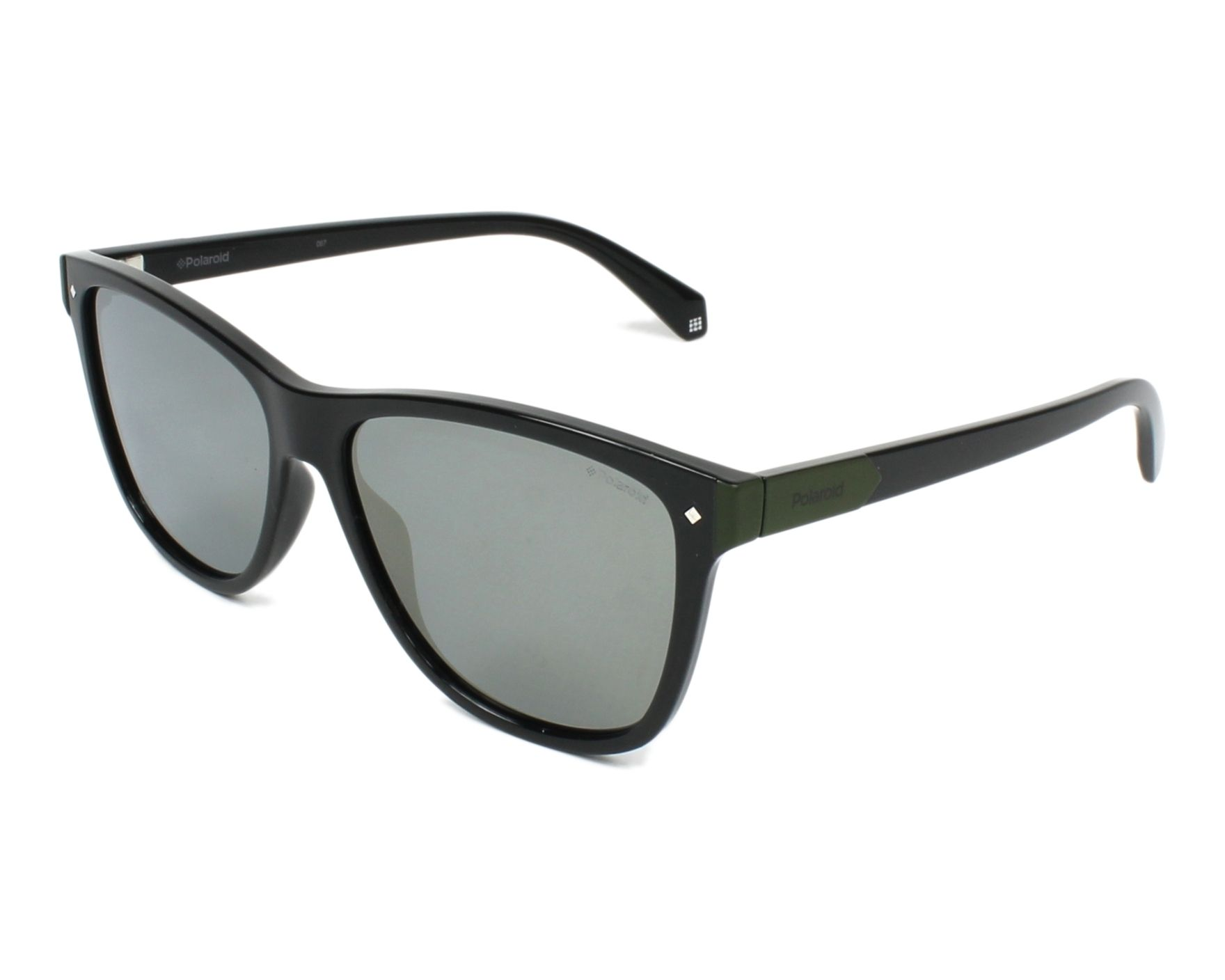 Polarized. Sunglasses Polaroid PLD-6035-S 807 LM 56-15 Black Green profile f41cebe08b8