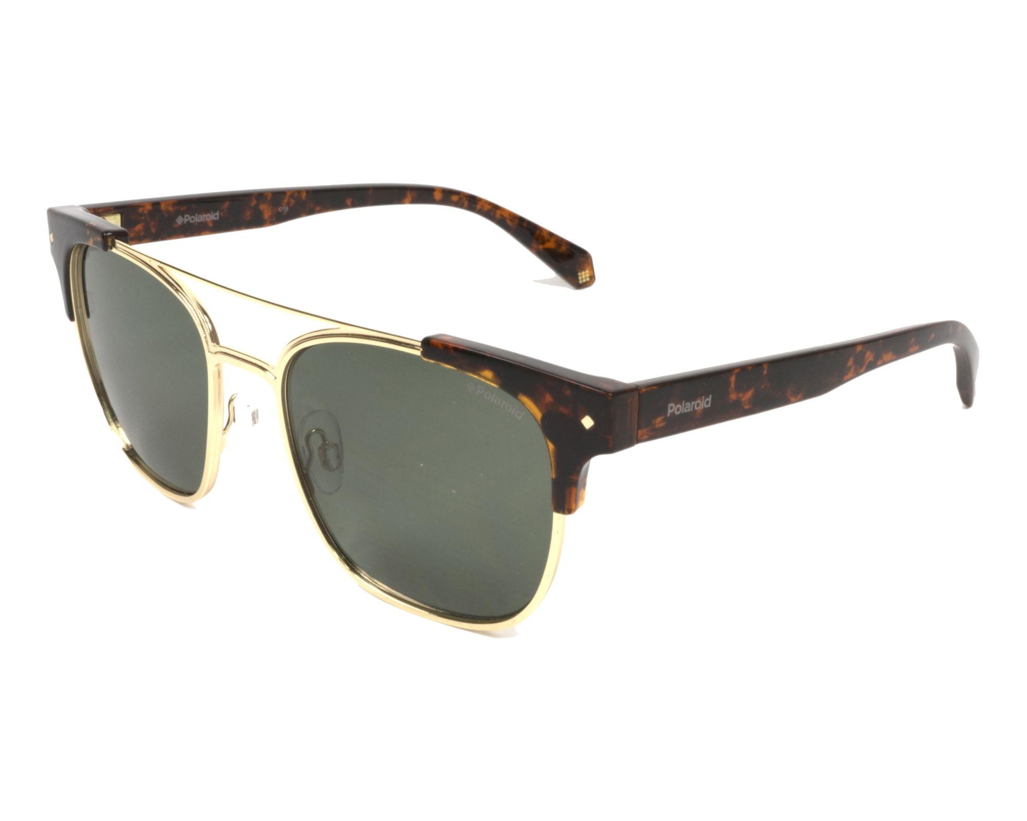 Sunglasses Polaroid PLD-6039-S-X 086 UC 54-18 Havana Gold profile ea8fdd84cf