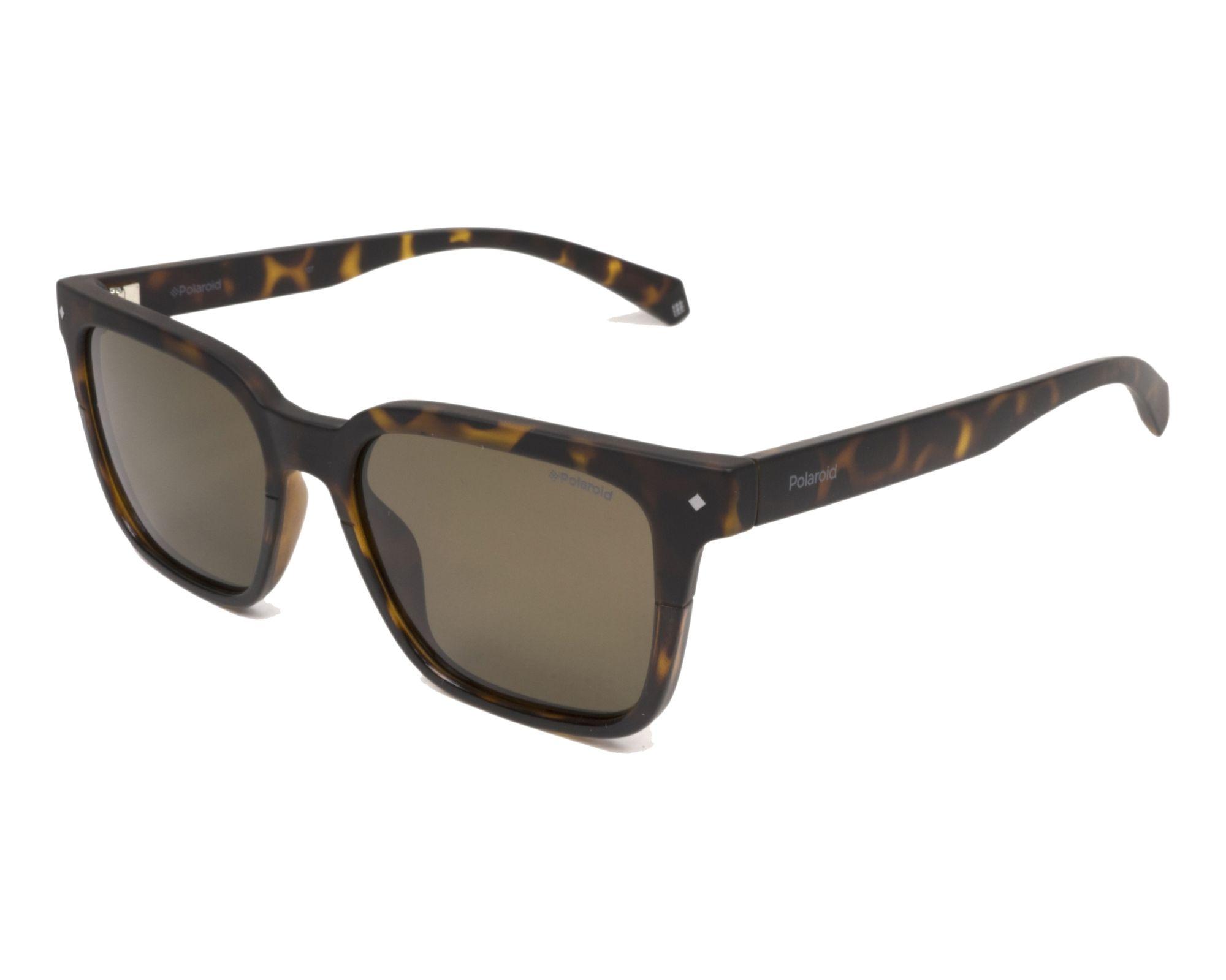 eab4d536964 Polarized. Sunglasses Polaroid PLD-6044-S 086 SP 52-17 Havana Havana profile