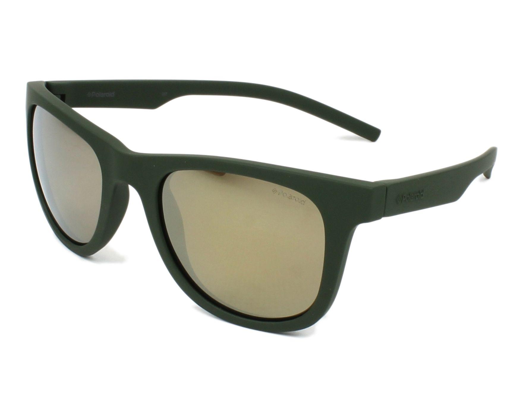 a16660698f5 thumbnail Sunglasses Polaroid PLD-7020-S 1ED LM - Green profile view
