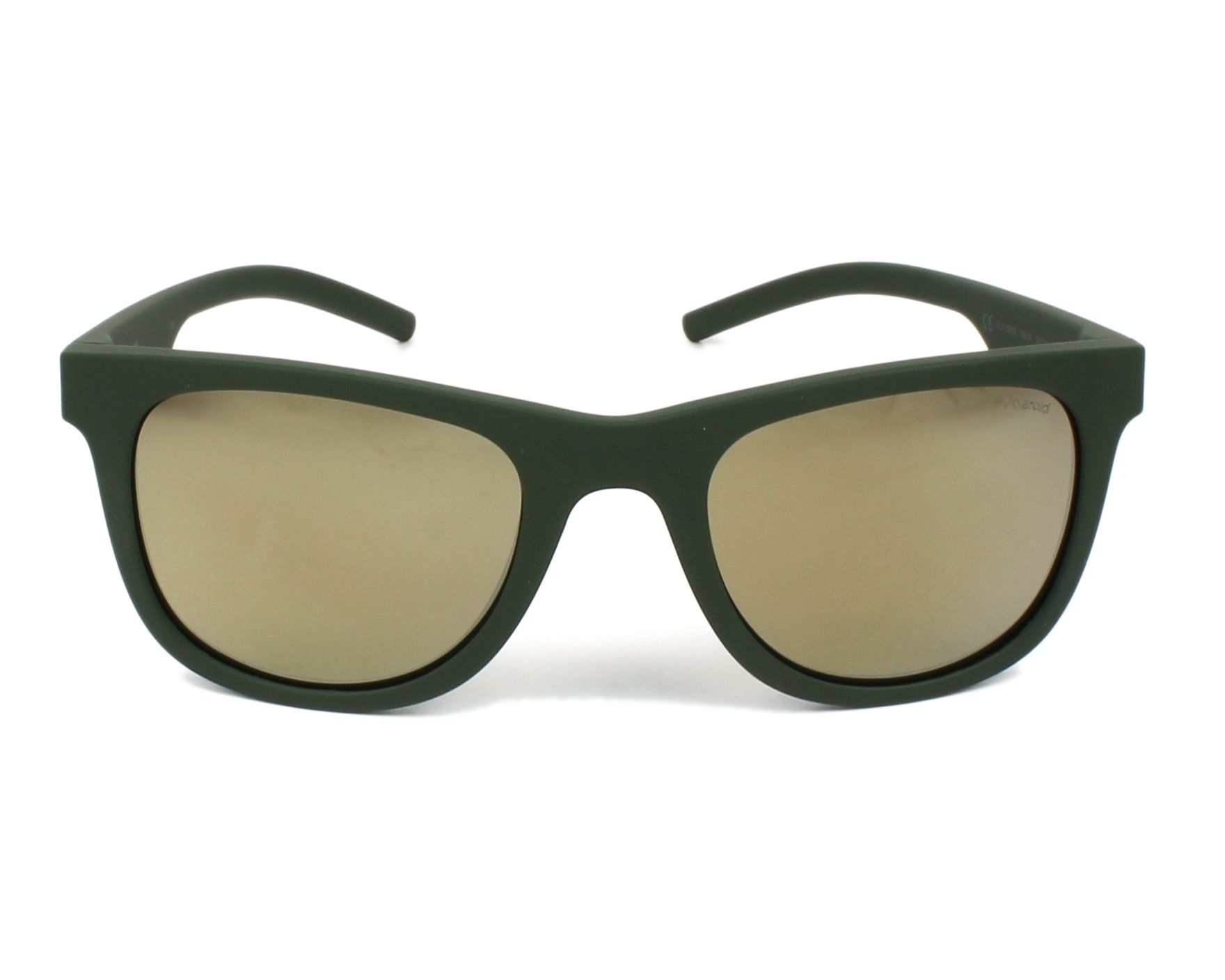 7a6de52f7b0 thumbnail Sunglasses Polaroid PLD-7020-S 1ED LM - Green front view