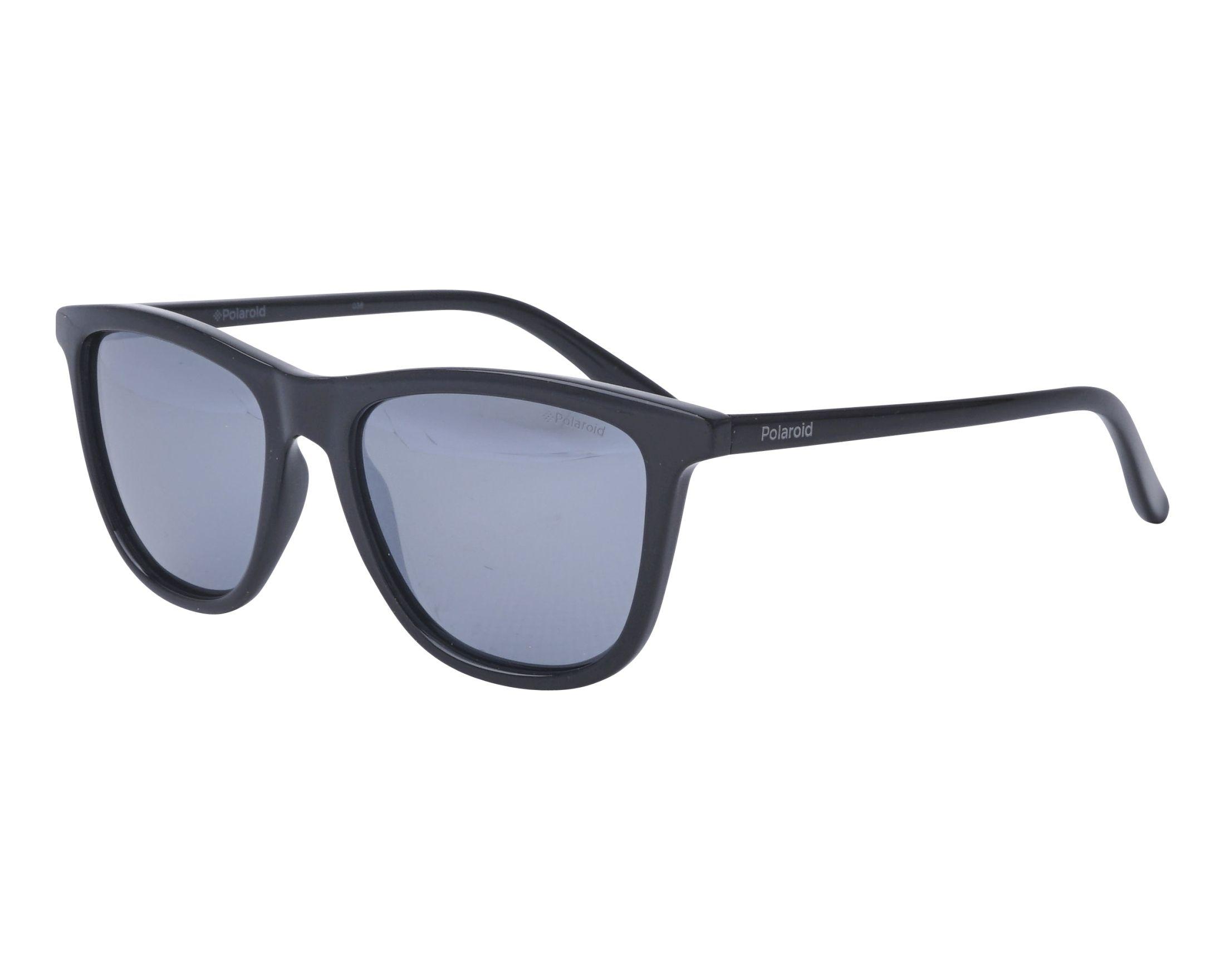 f06ace075c Sunglasses Polaroid PLD-8027-S 807EX 47-15 Black profile view
