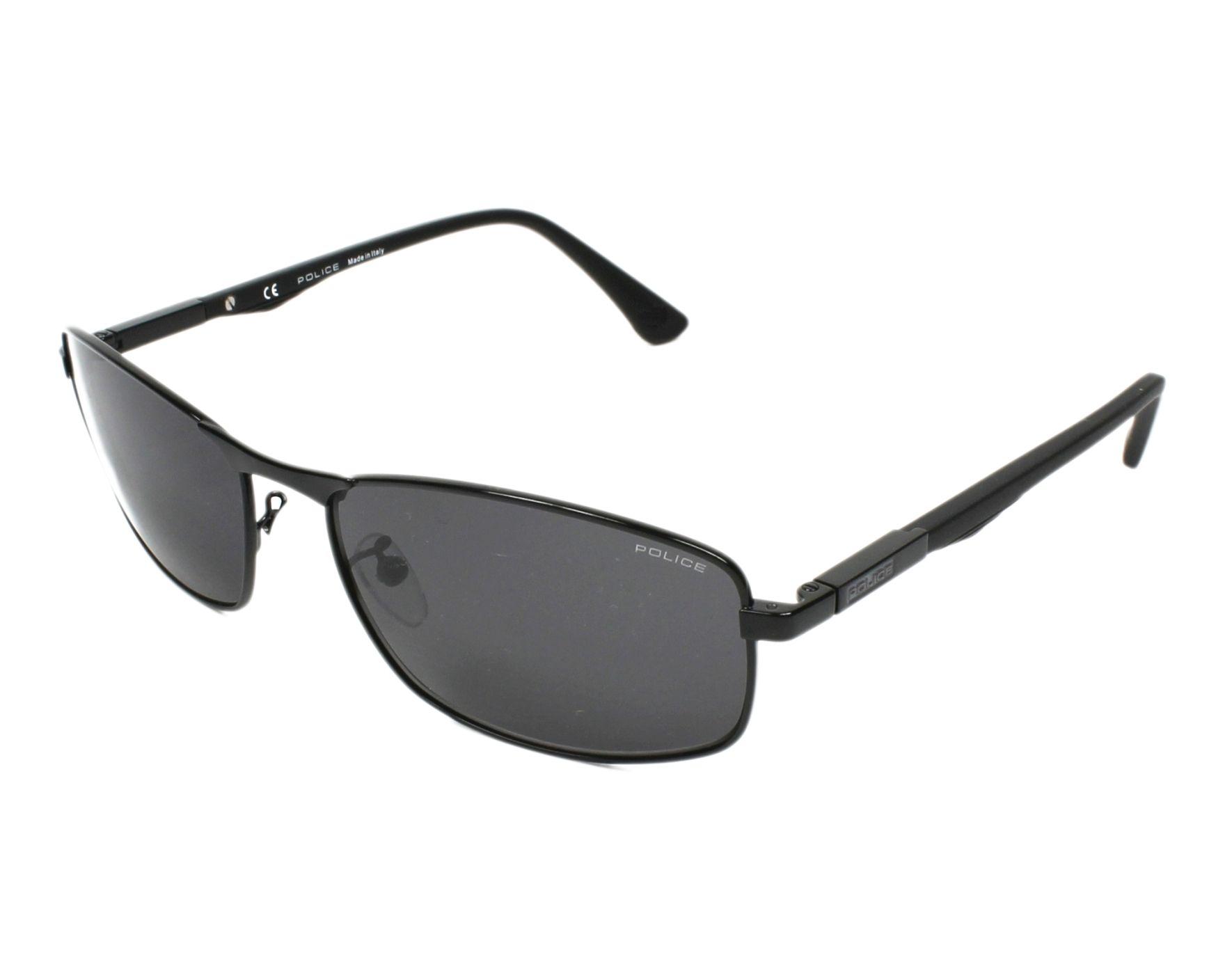 90a4a14b9f9 Sunglasses Police SPL-530 530 60-17 Black profile view