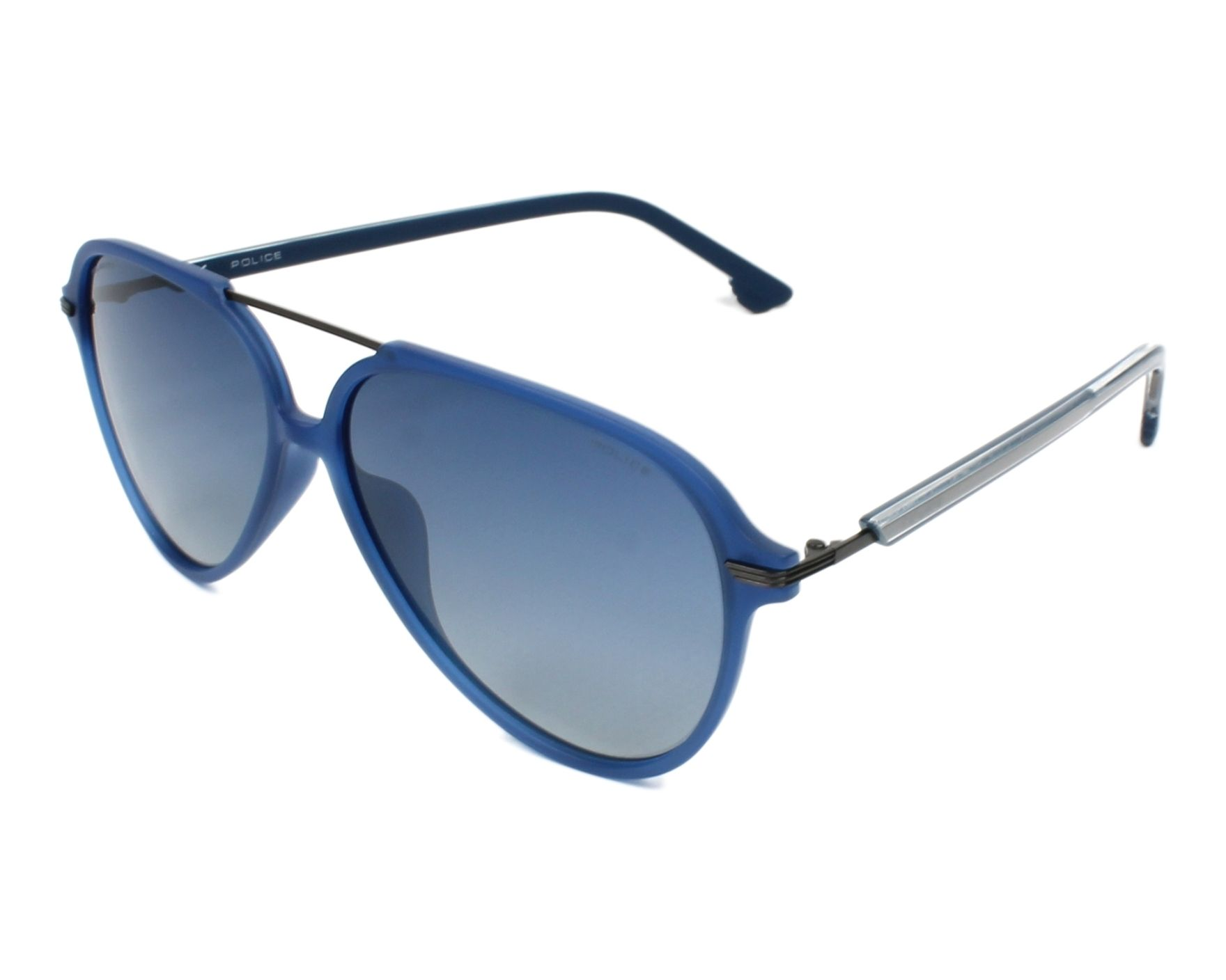 d74c3275451 Sunglasses Police SPL-582 TA5B 58-13 Blue Blue profile view