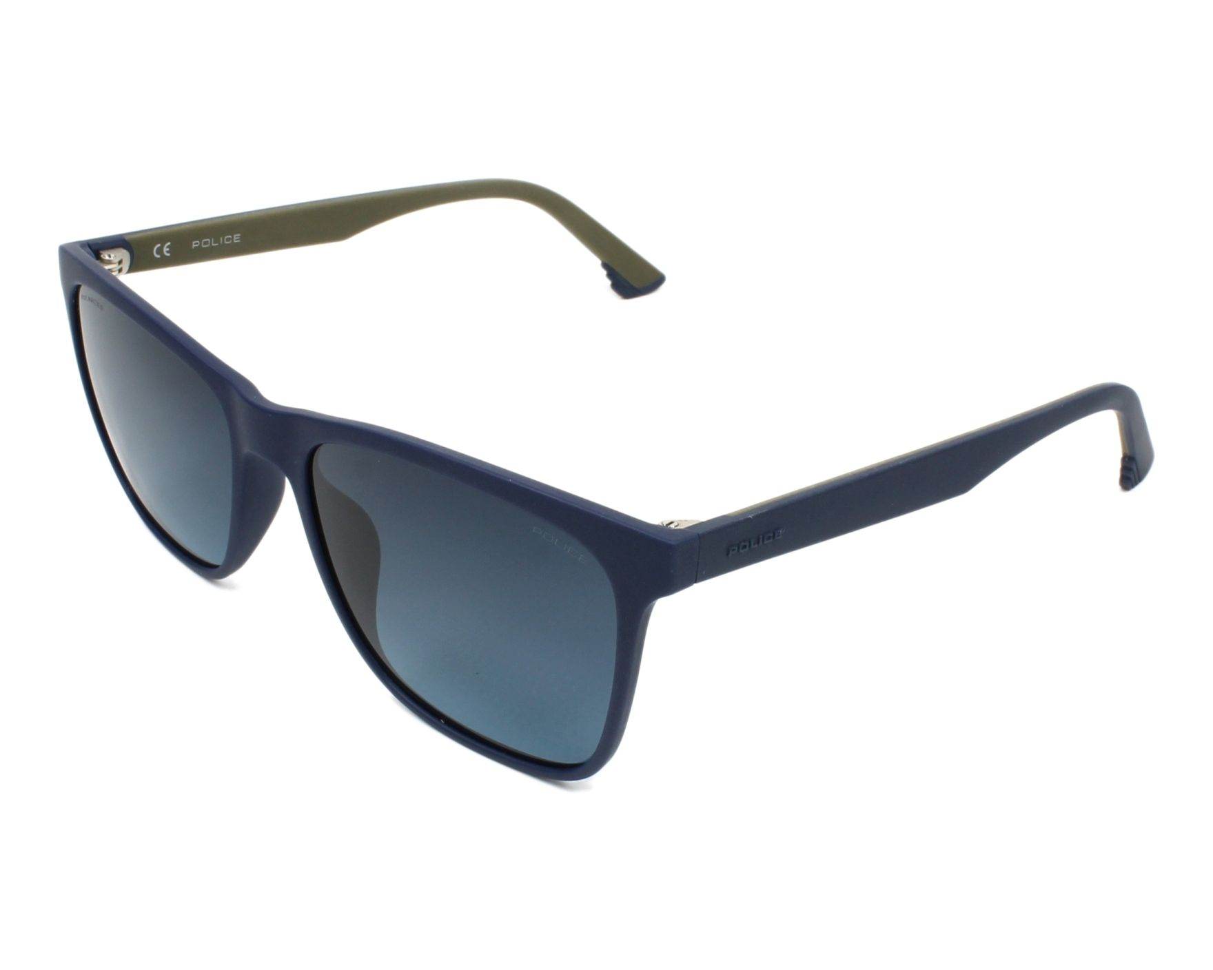 thumbnail Sunglasses Police SPL-633 7SFP - Blue Grey profile view 0f6c0b1bee