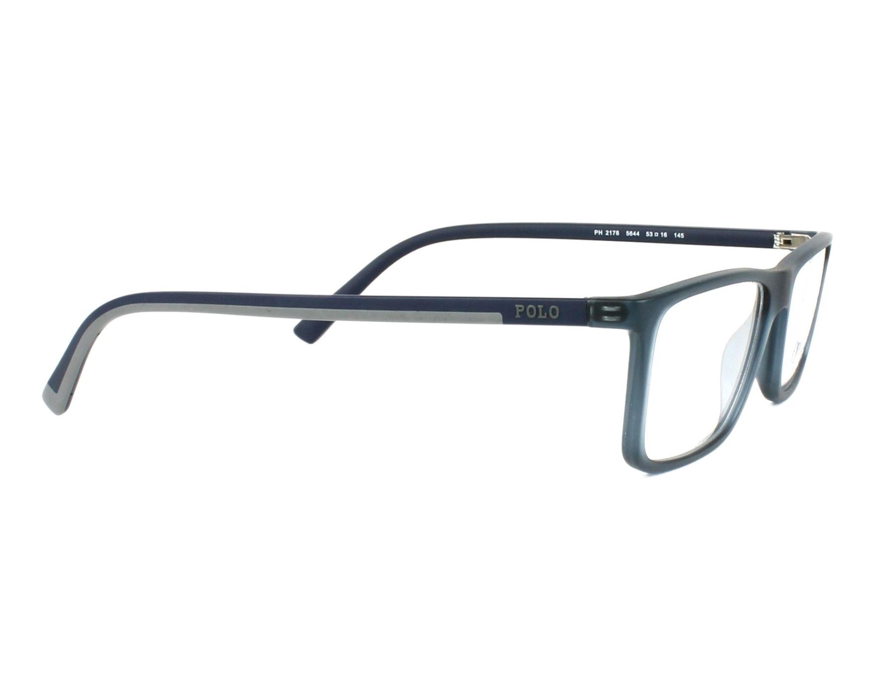 71b3205a5d7 eyeglasses Polo Ralph Lauren PH-2178 5644 - Grey Blue side view