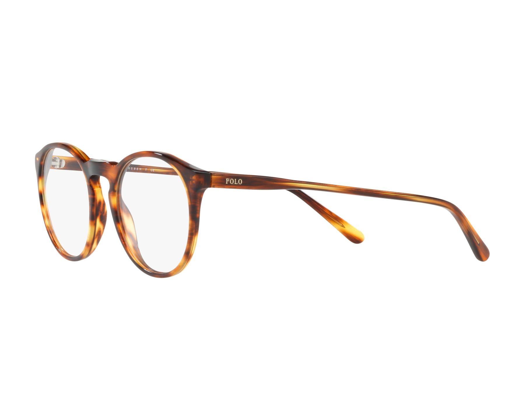 eyeglasses Polo Ralph Lauren PH-2180 5007 50-20 Havana 360 degree view 3 7895c9e5588