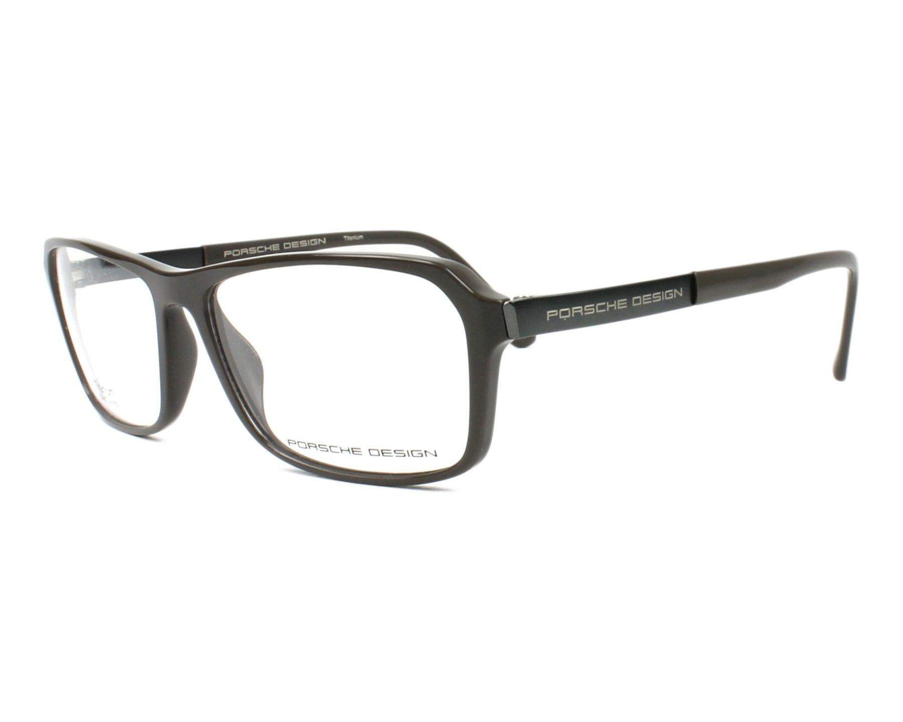 519299a2b59 eyeglasses Porsche Design P-8267 A 55-14 Grey Gun profile view