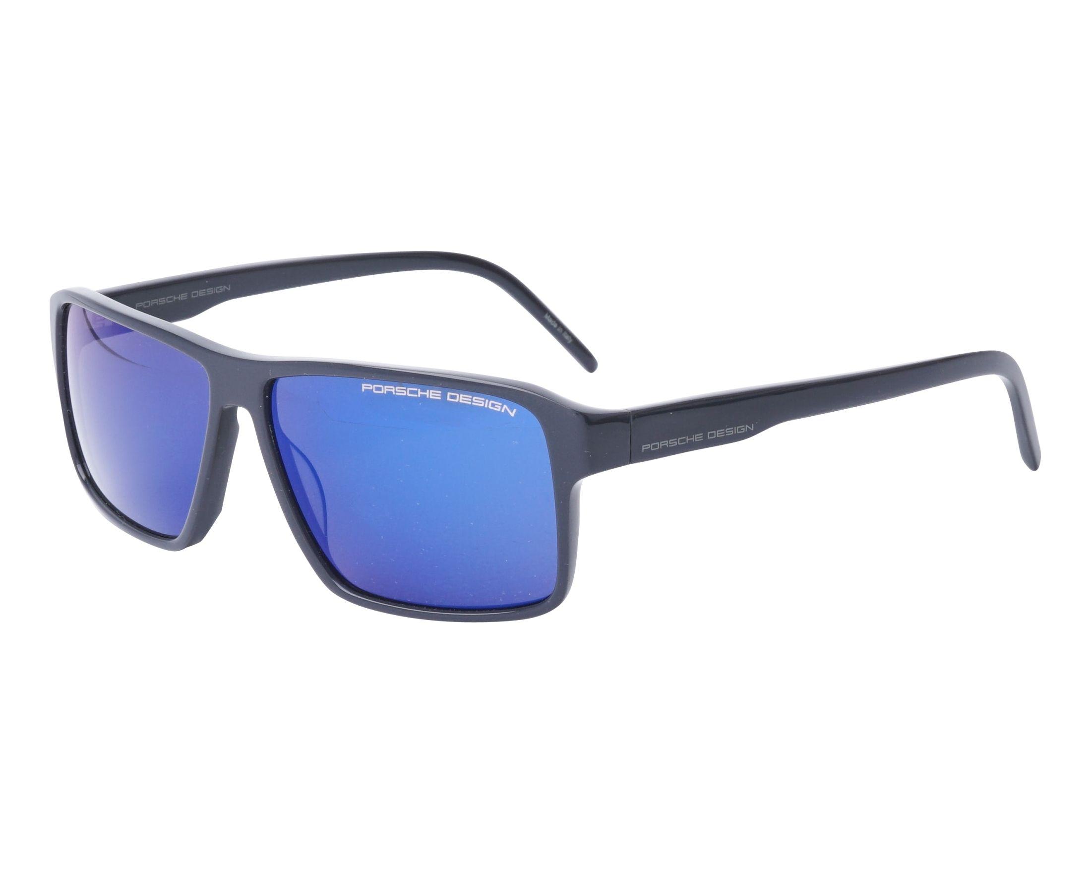 Porsche Design P8634-B Sonnenbrille in blue transparent 57/12 ksqjf70C0