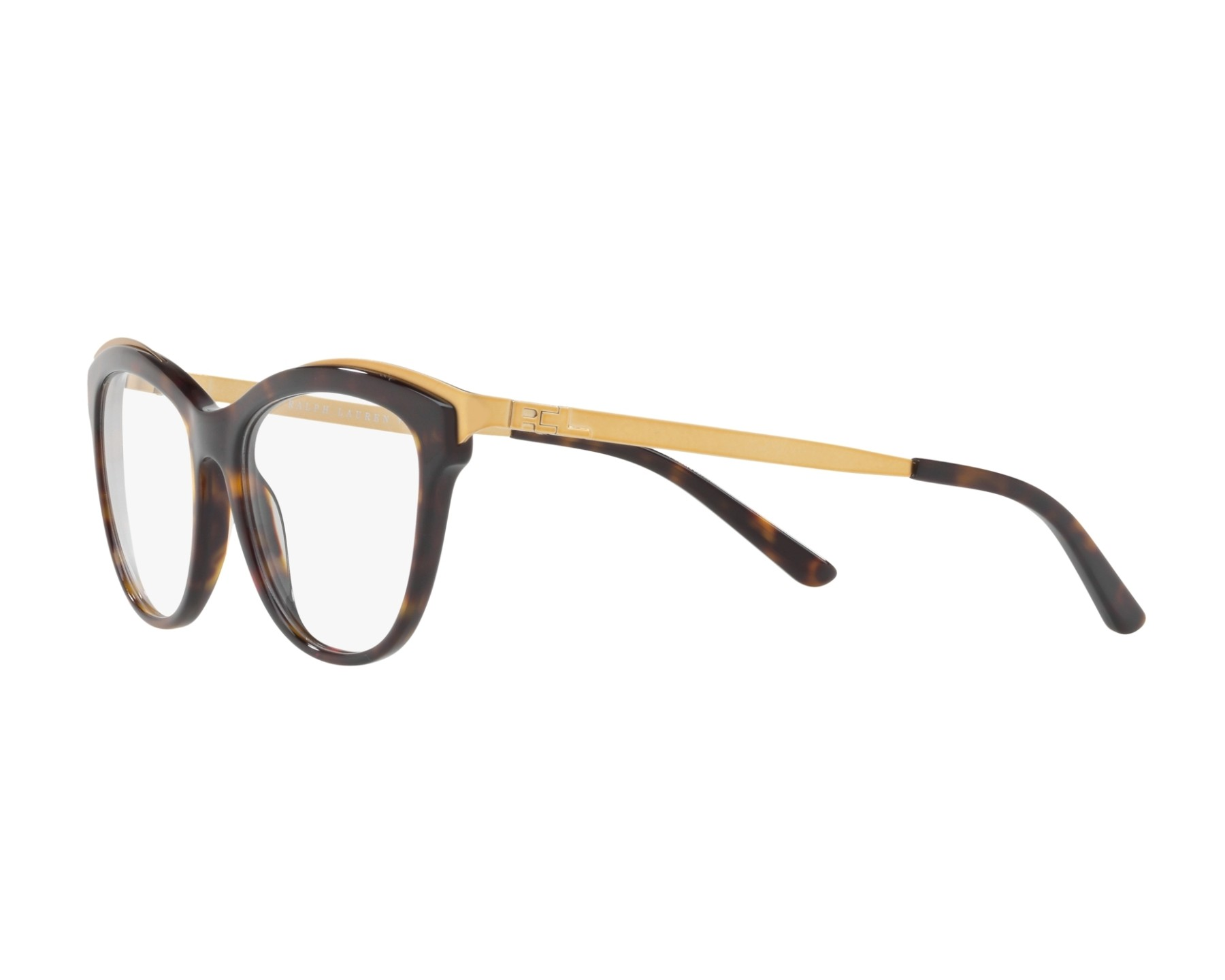 b68222c4e4 eyeglasses Ralph Lauren RL-6166 5003 53-17 Havana 360 degree view 3