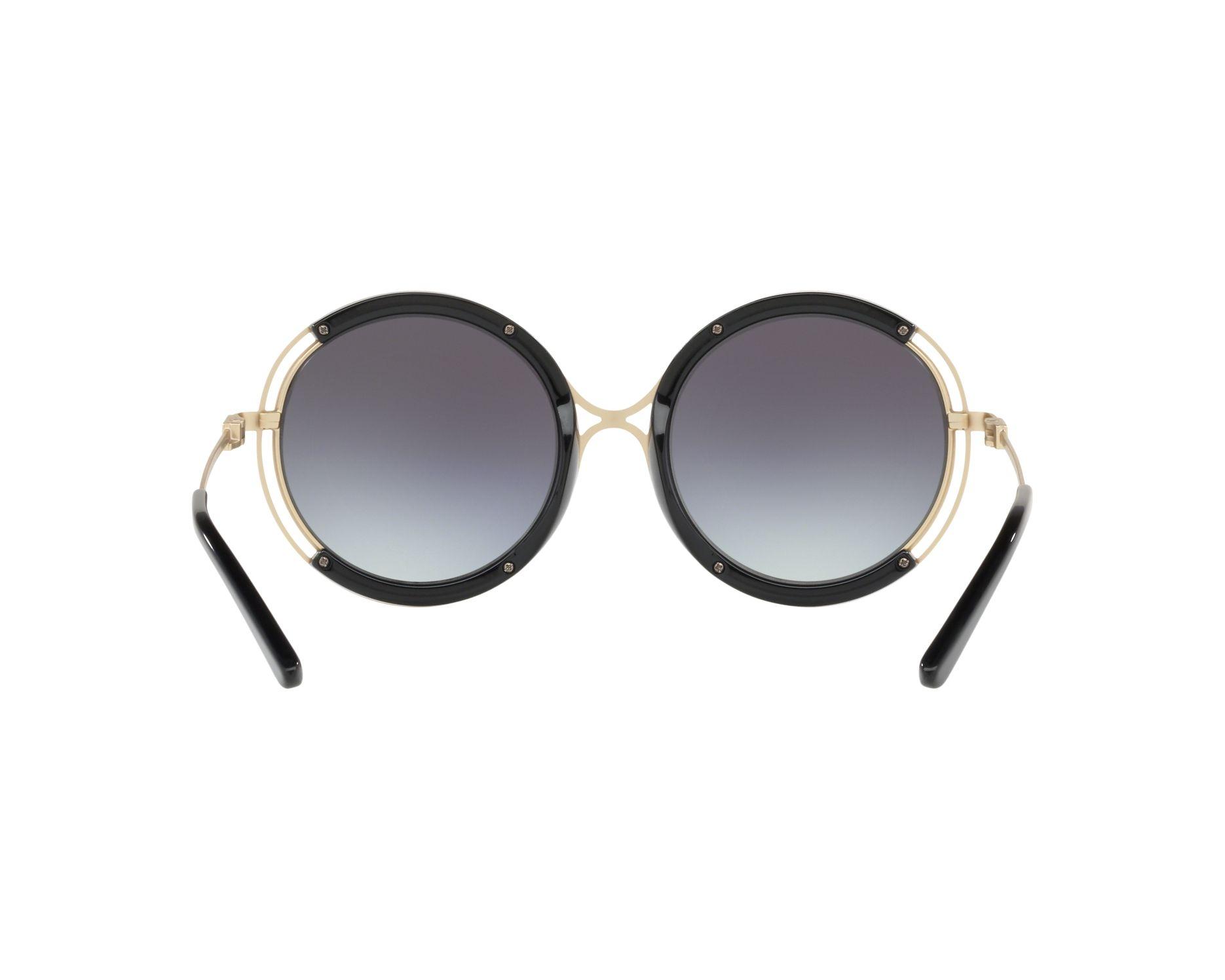 ba7690d2b2a Sunglasses Ralph Lauren RL-7060 93498G 53-20 Gold Black 360 degree view 7