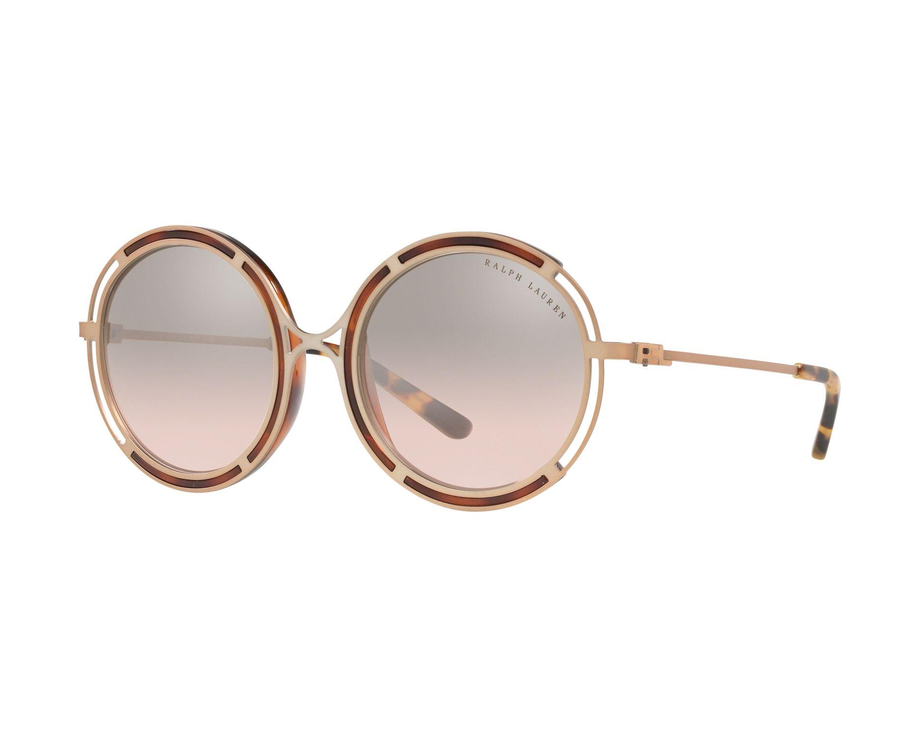 329ef3a0079 Sunglasses Ralph Lauren RL-7060 93508Z 53-20 Gold Copper Havana