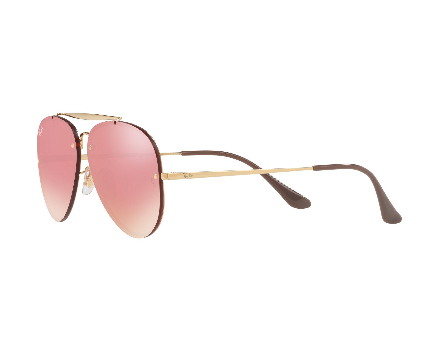 Sunglasses Ray-Ban RB-3584-N 9052E4 61-13 Gold 360 degree 0fb86fd7d897