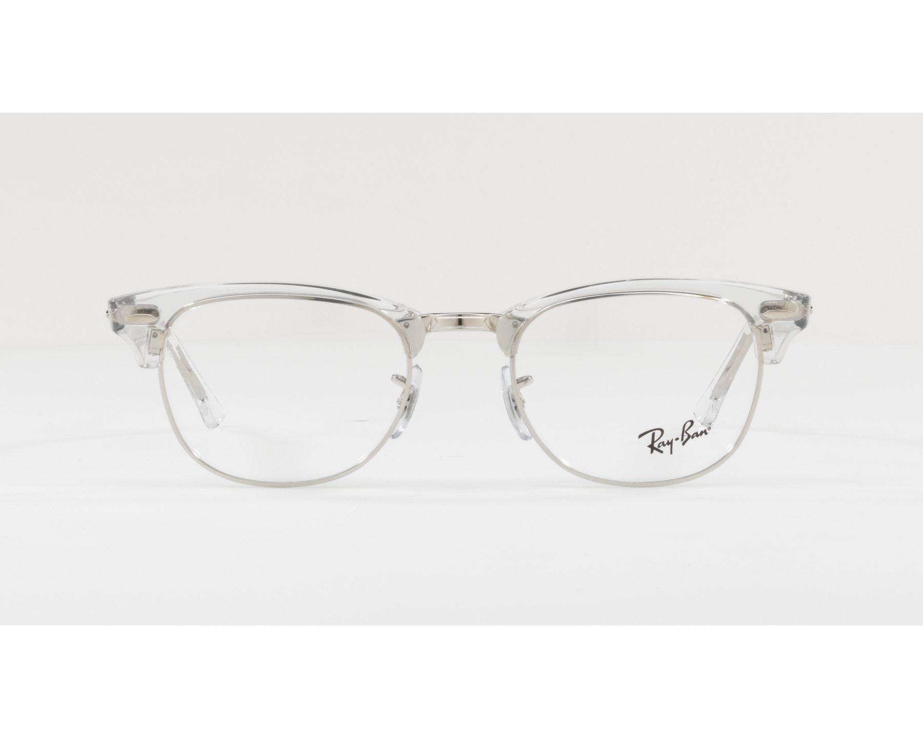 7ade39cd05 eyeglasses Ray-Ban RX-5154 2001 49-21 Crystal Silver 360 degree view