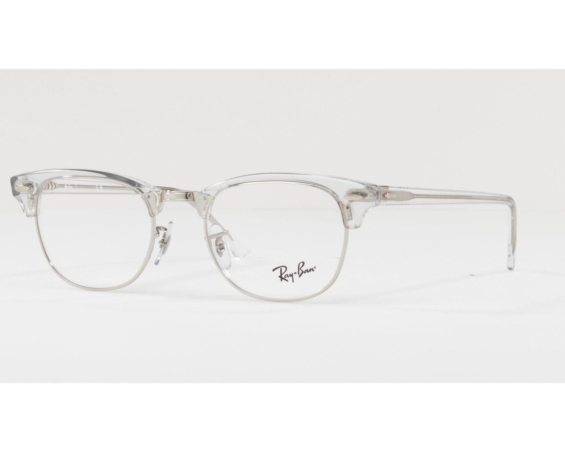 acb77ad064c eyeglasses Ray-Ban RX-5154 2001 49-21 Crystal Silver