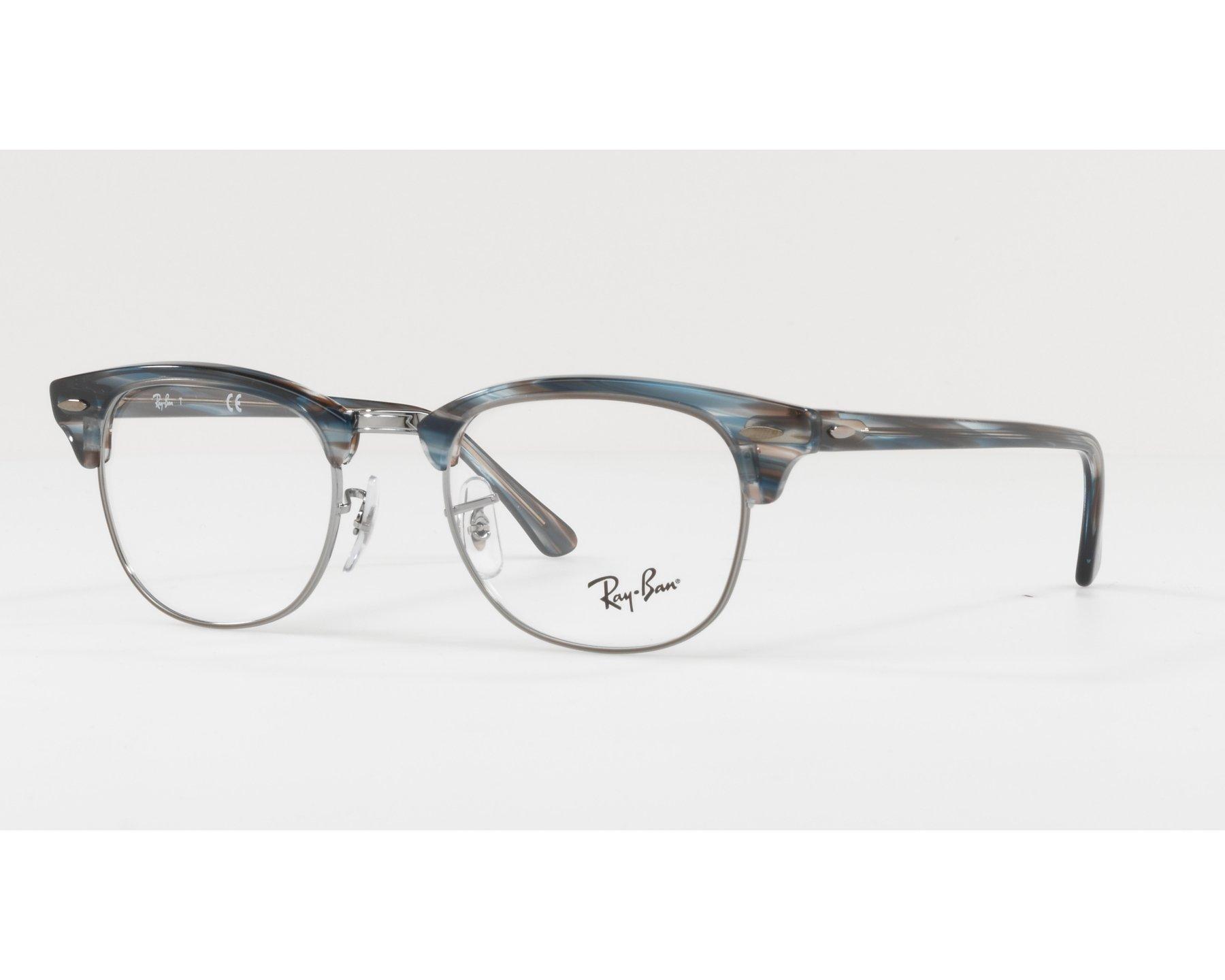 7f64b39be2f eyeglasses Ray-Ban RX-5154 5750 49-21 Green Gun