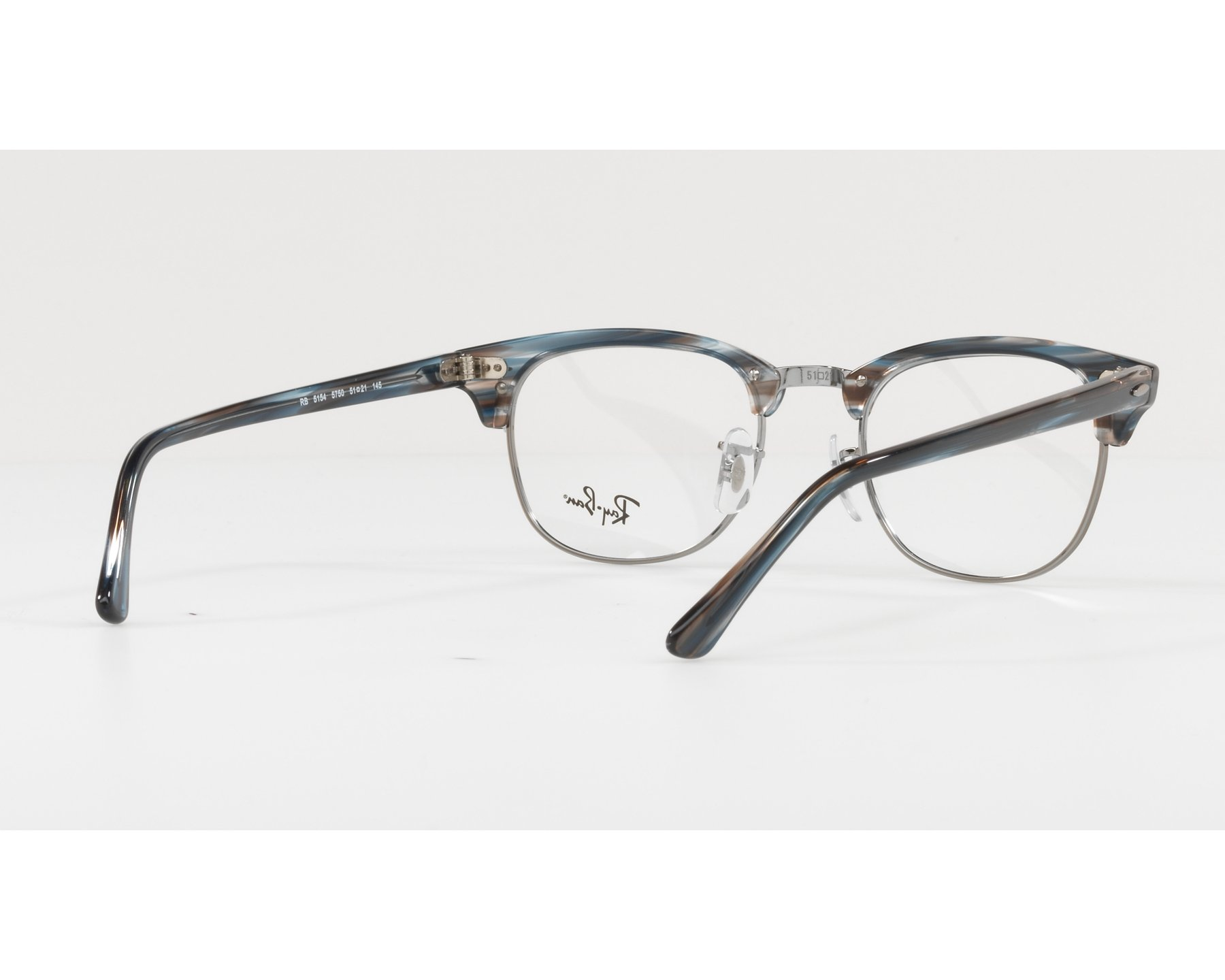 8e64e28e9a8 eyeglasses Ray-Ban RX-5154 5750 49-21 Green Gun 360 degree view