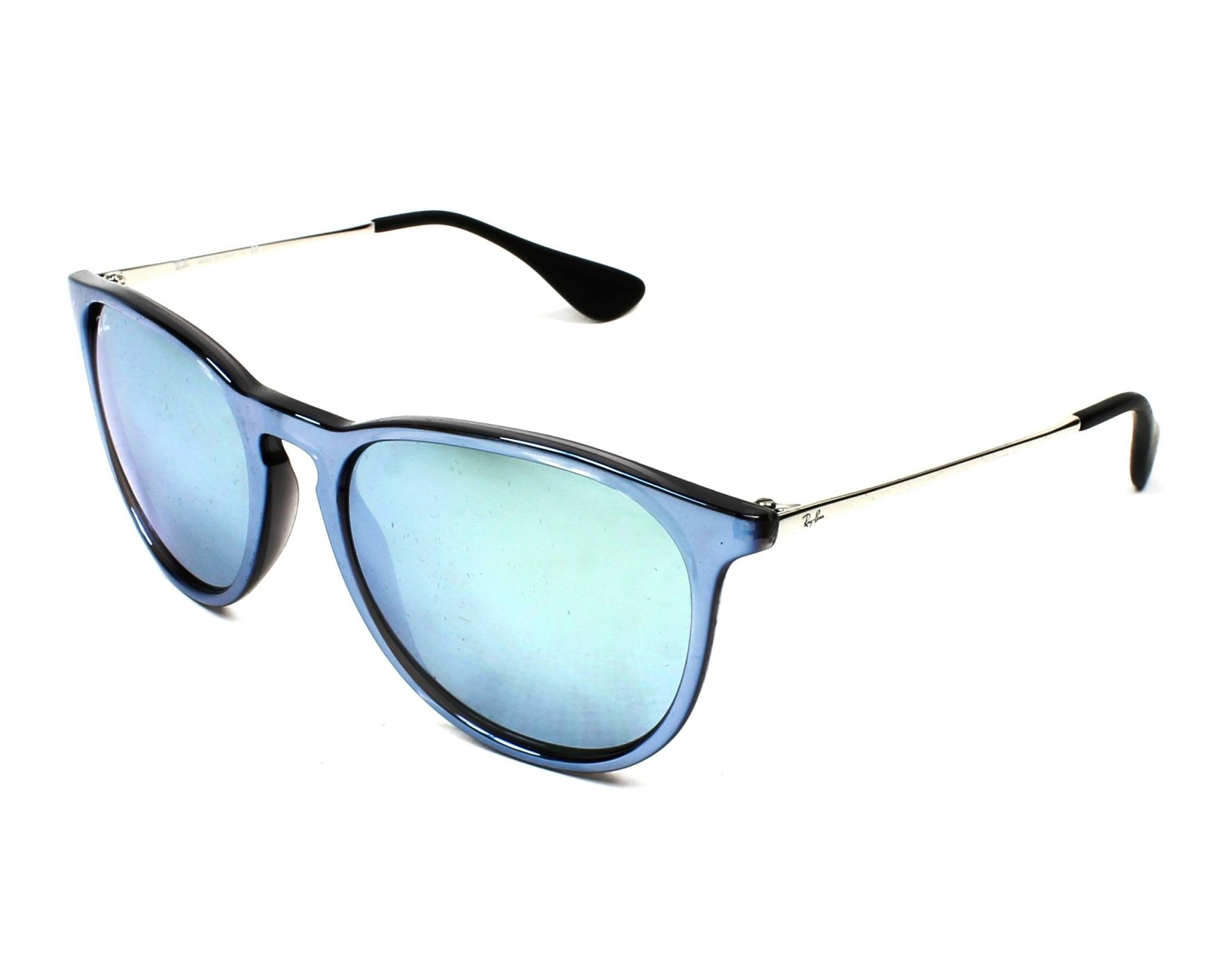 Sunglasses Ray-Ban RB-4171 631930 54-17 Blue Silver profile view 48103b009c