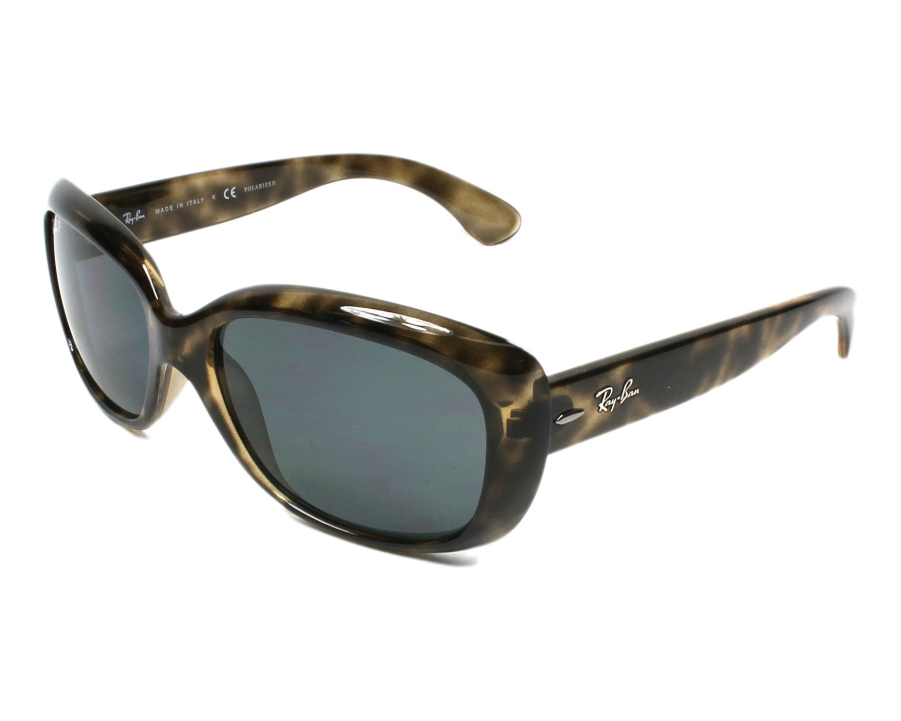 50c9f99694 Polarized. Sunglasses Ray-Ban RB-4101 731 81 58-19 Havana profile view