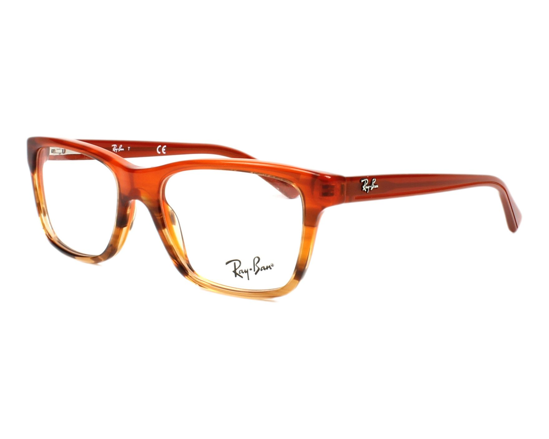 f6e73d470f0 eyeglasses Ray-Ban RY-1536 3732 48-16 Brown Brown profile view