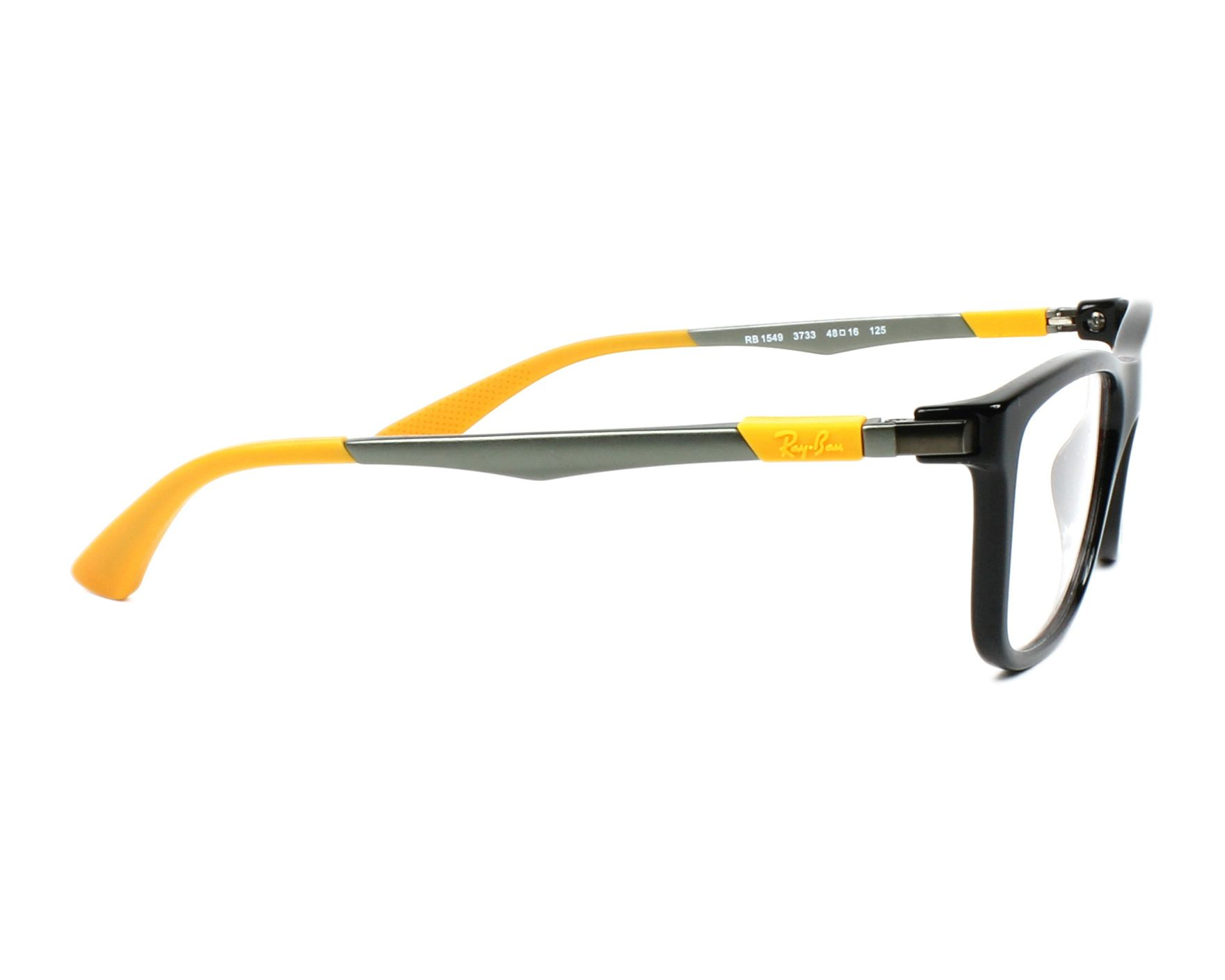 146047fac7 eyeglasses Ray-Ban RY-1549 3733 - Black Brown side view