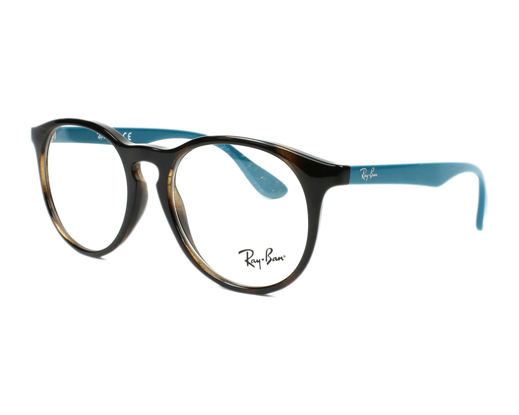 416836aefa eyeglasses Ray-Ban RY-1554 3728 48-16 Havana Turquoise profile view